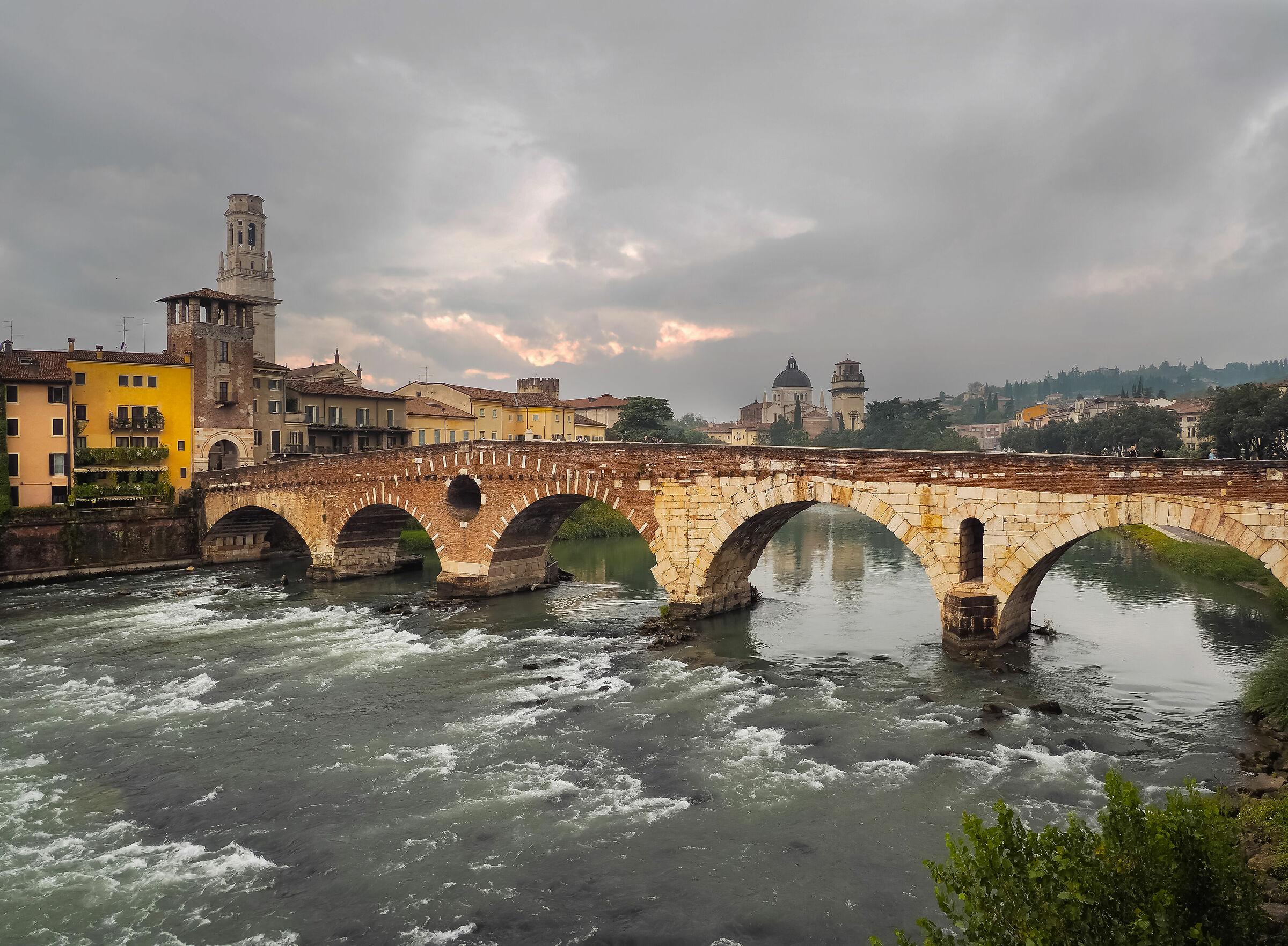 The Adige Bridge Stone...