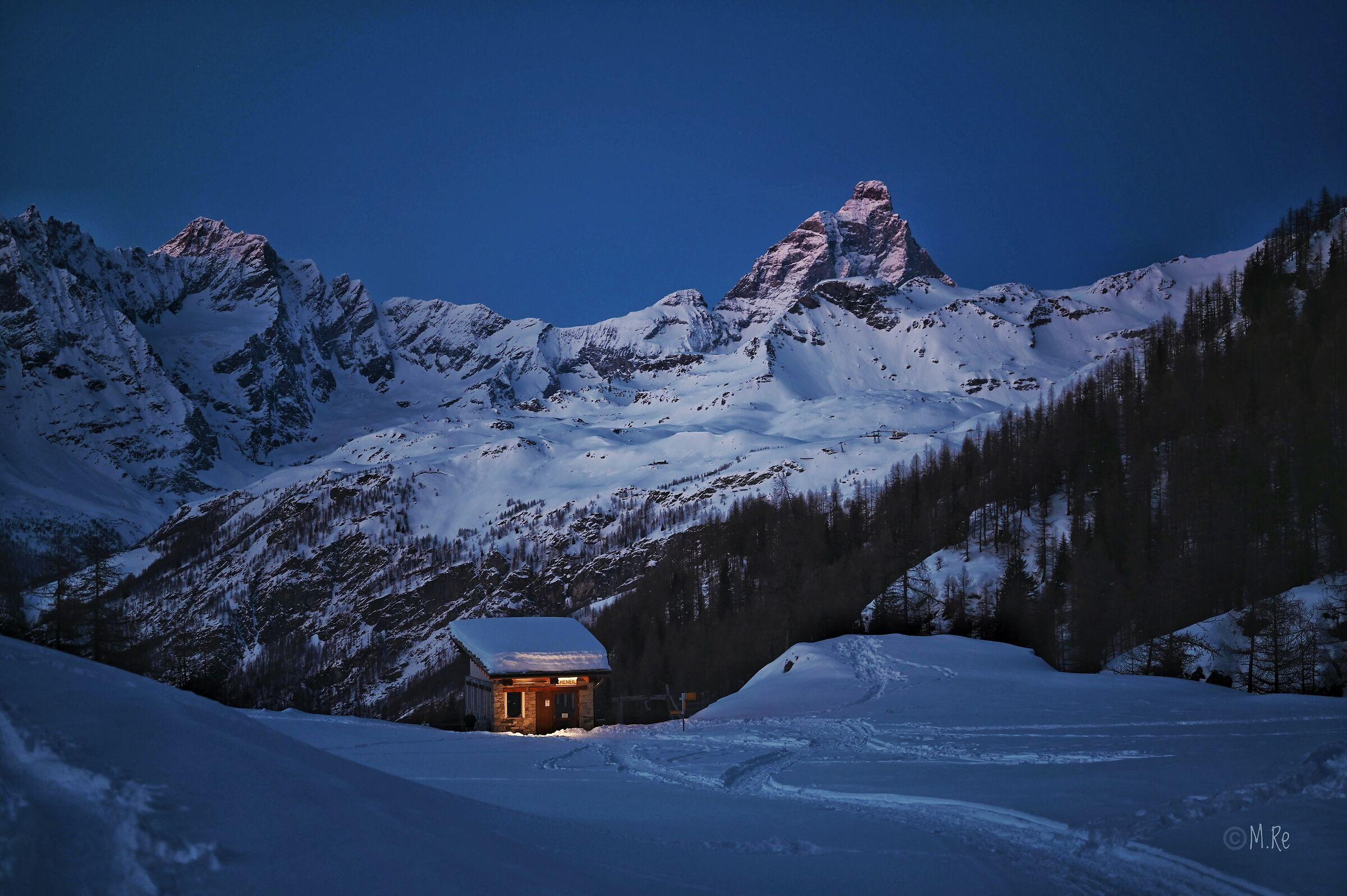 The Matterhorn from Cheneil...