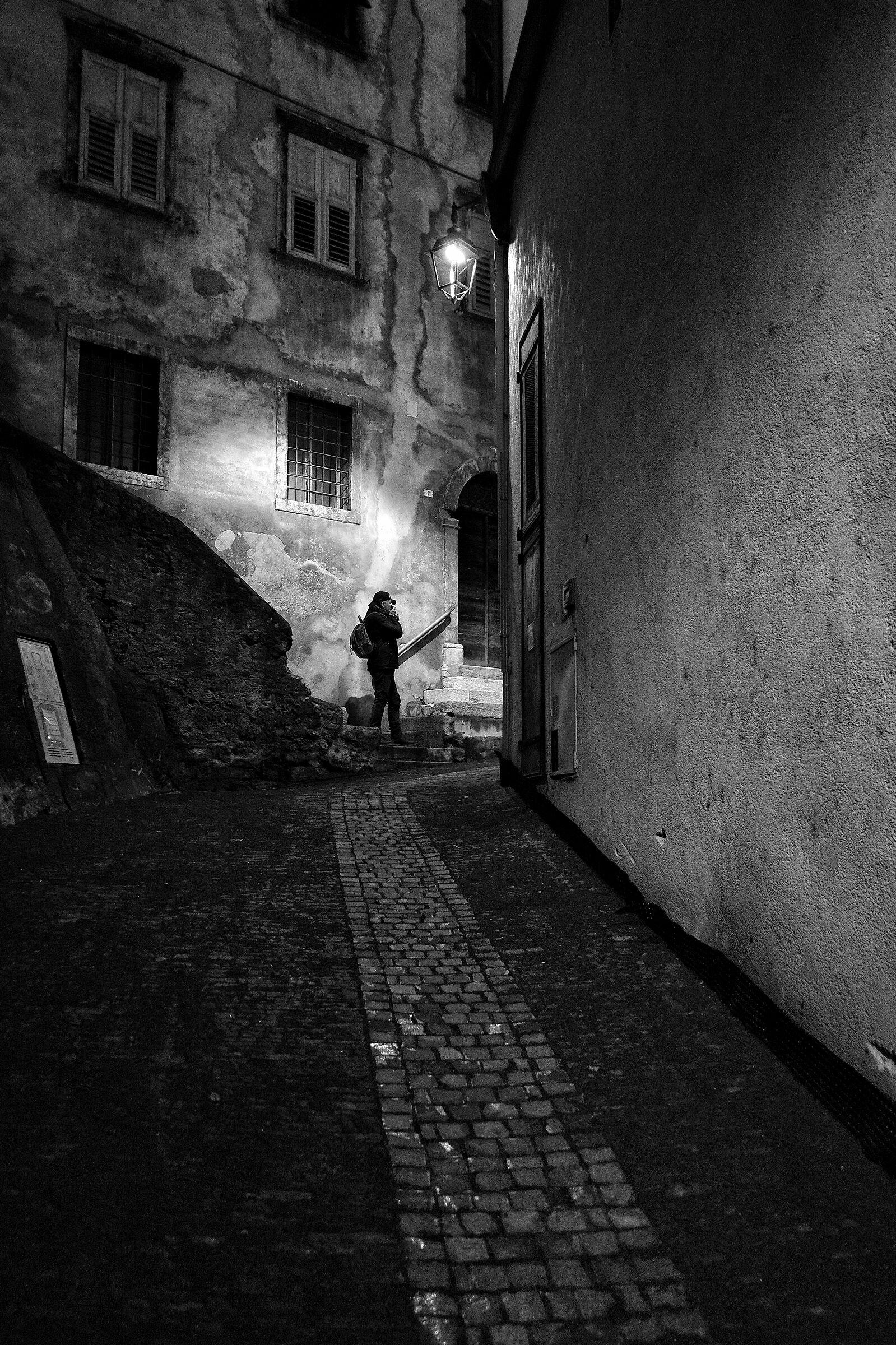 Il fotografo di strada...