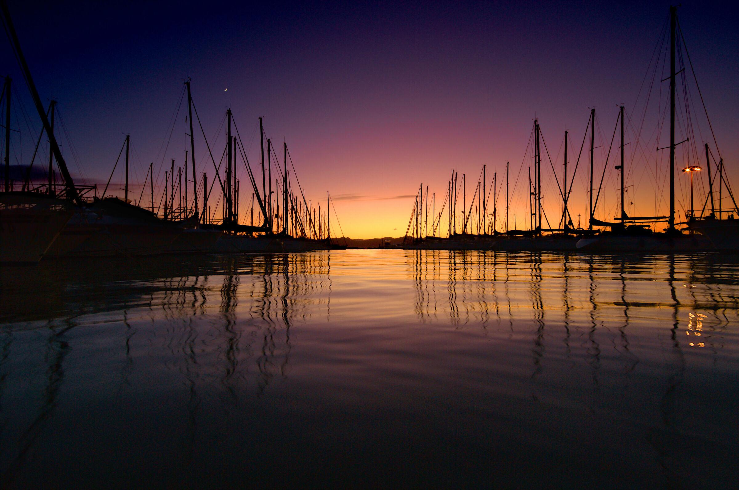 Sunset at Su Siccu....