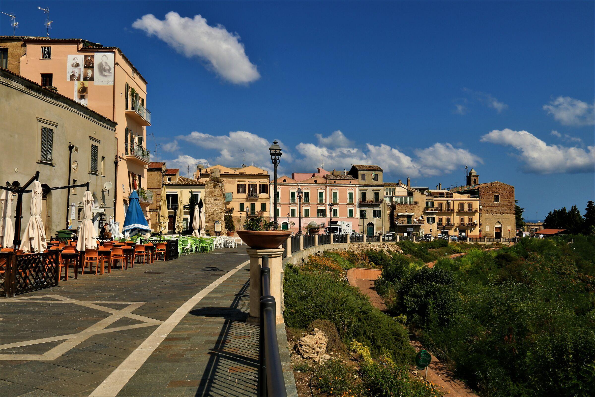Via Adriatica in Vasto (CH)...
