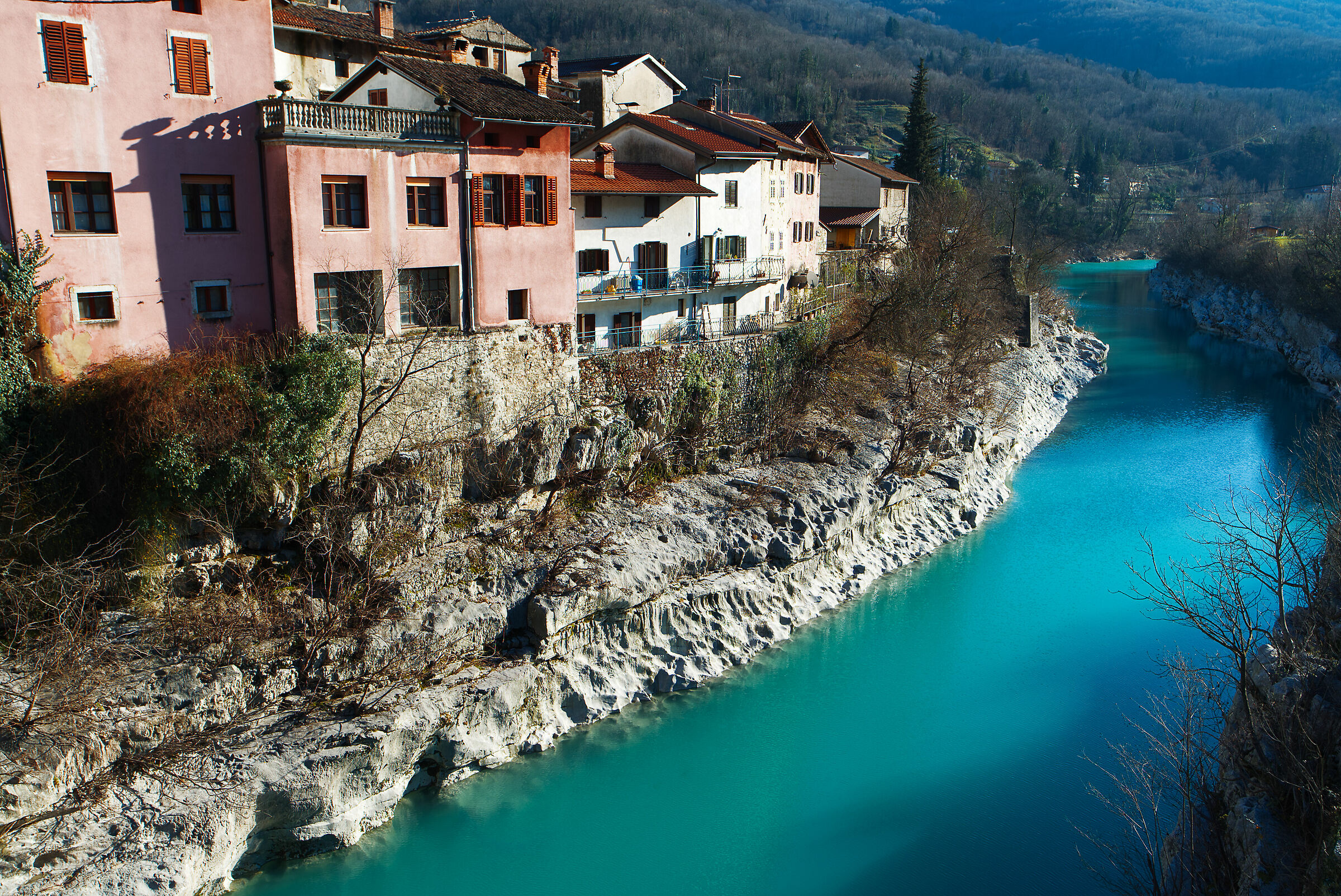 The colours of isonzo in Slovenian territory...