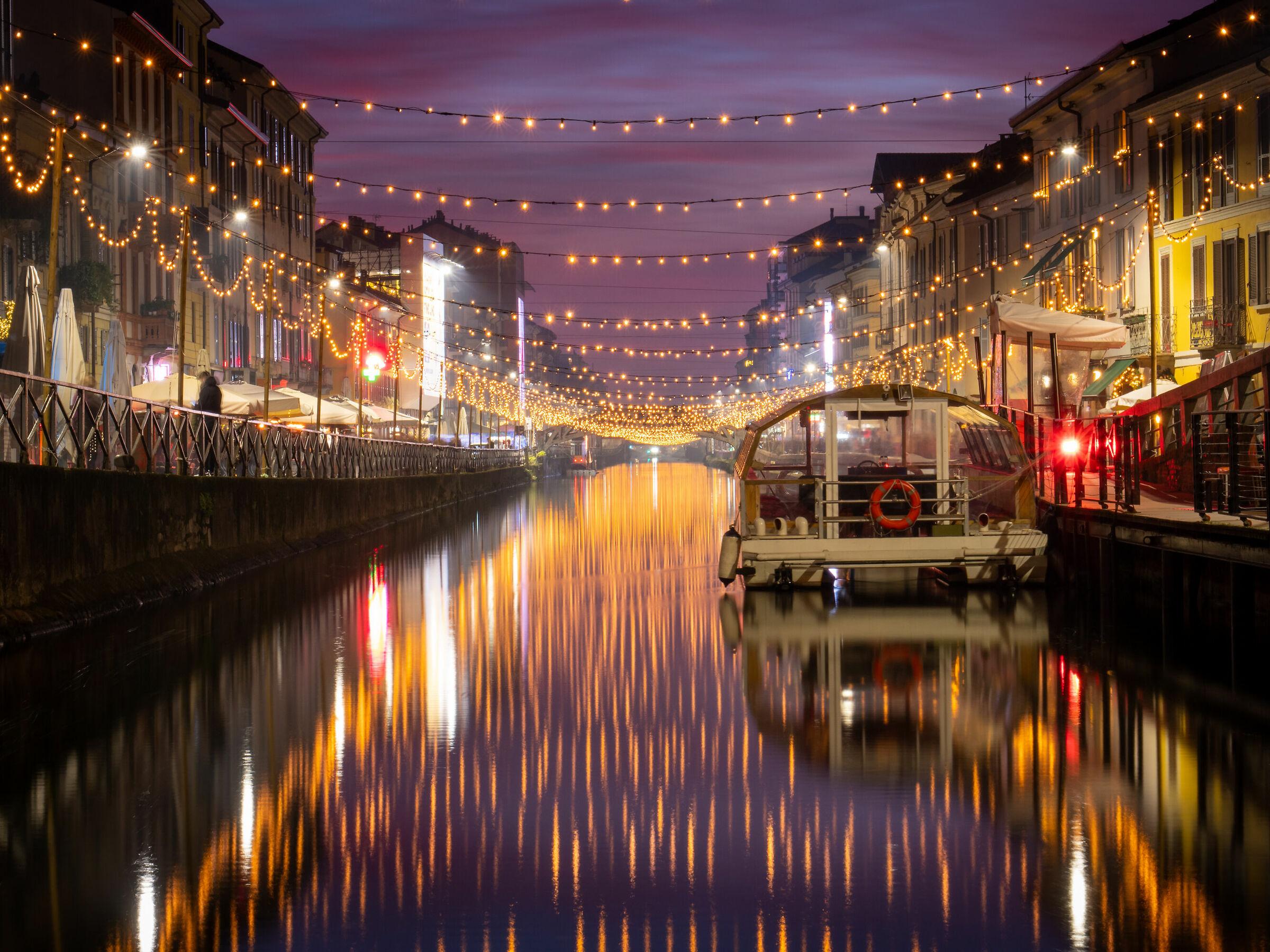 Milano Naviglio e Natale...