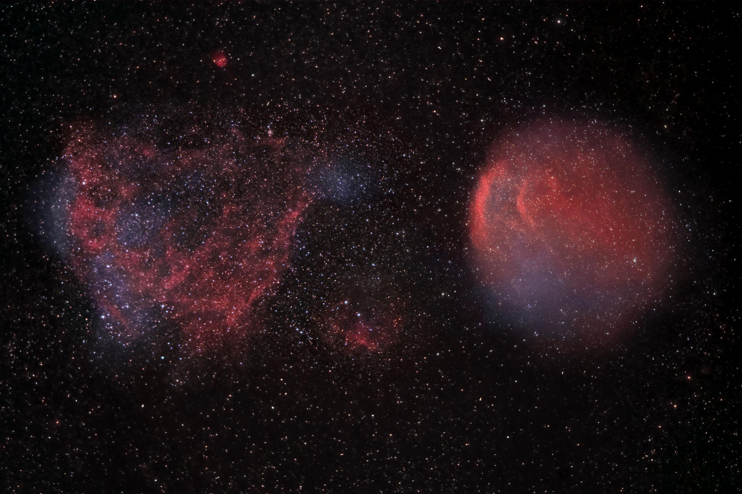 Sh2-221 & 216 between Auriga and Perseus...