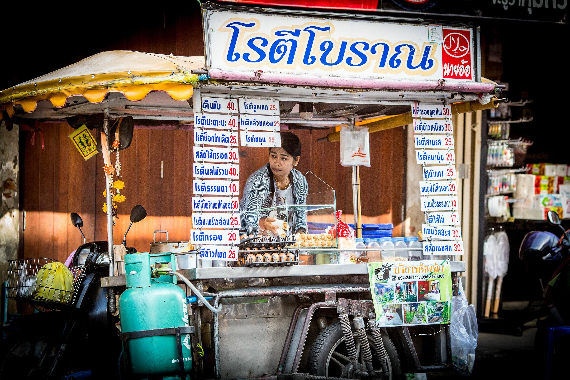 Street Food a Sukhumvit Road...