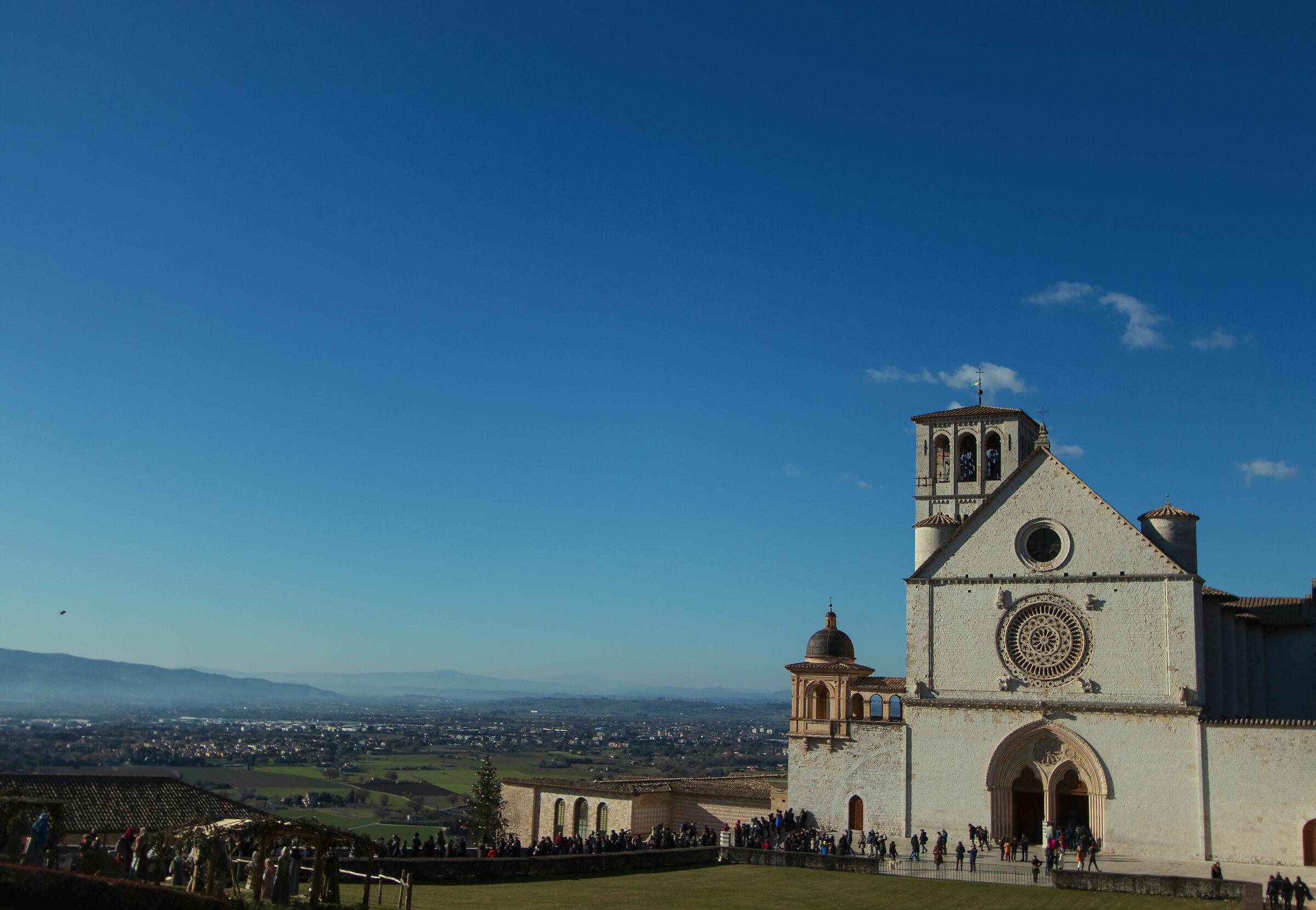 Assisi Basilica S. Francesco...