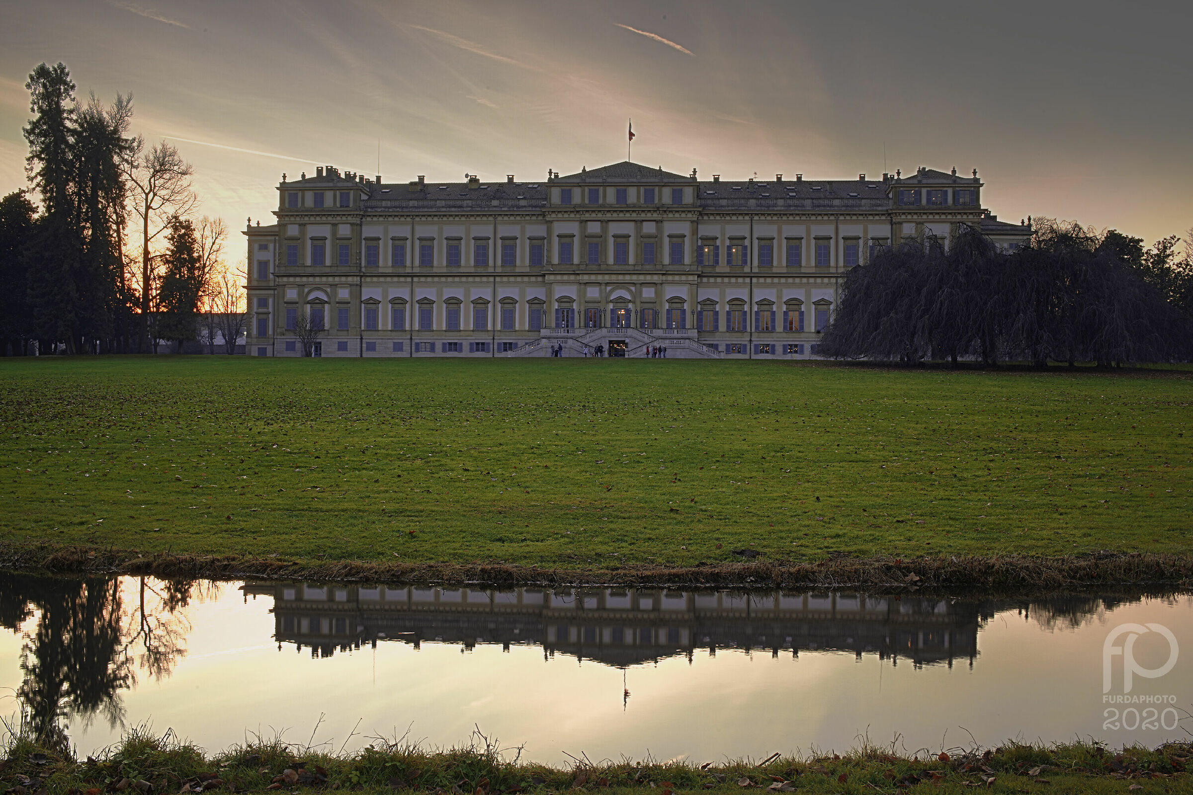 Villa di Monza - Gennaio 2020...