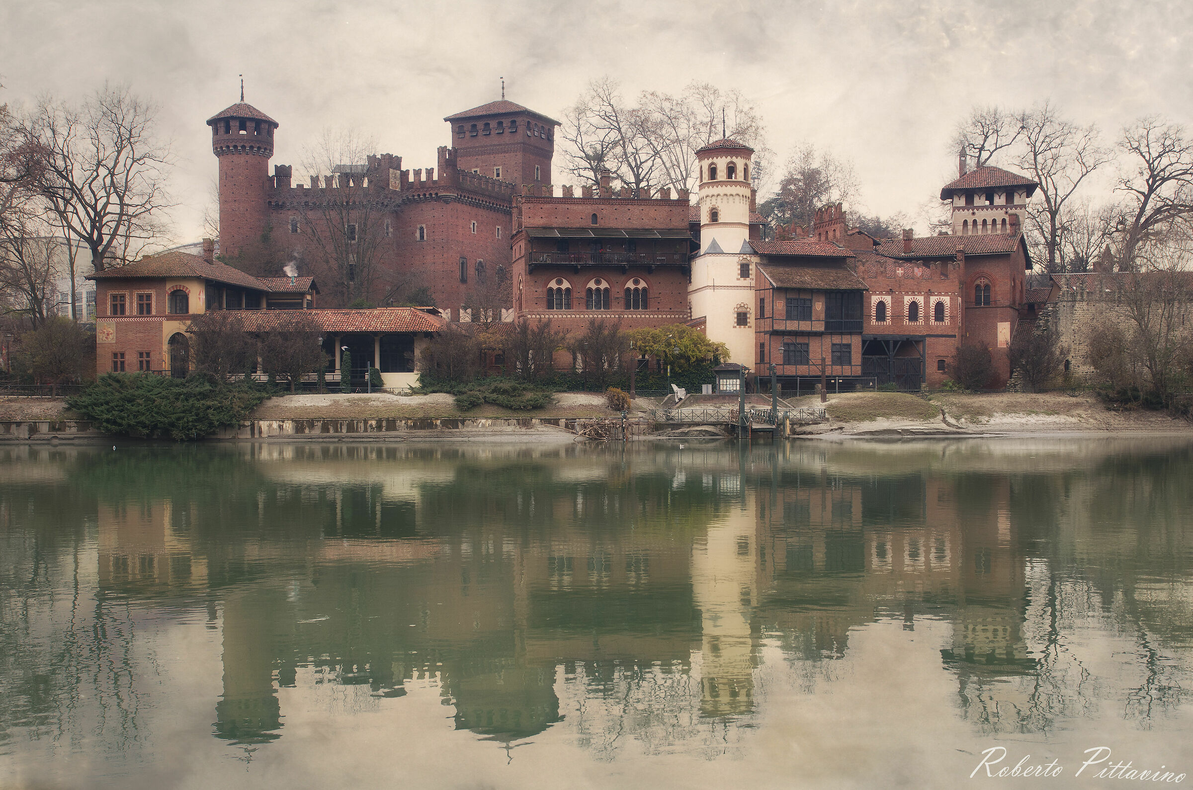 The medieval village of Turin...