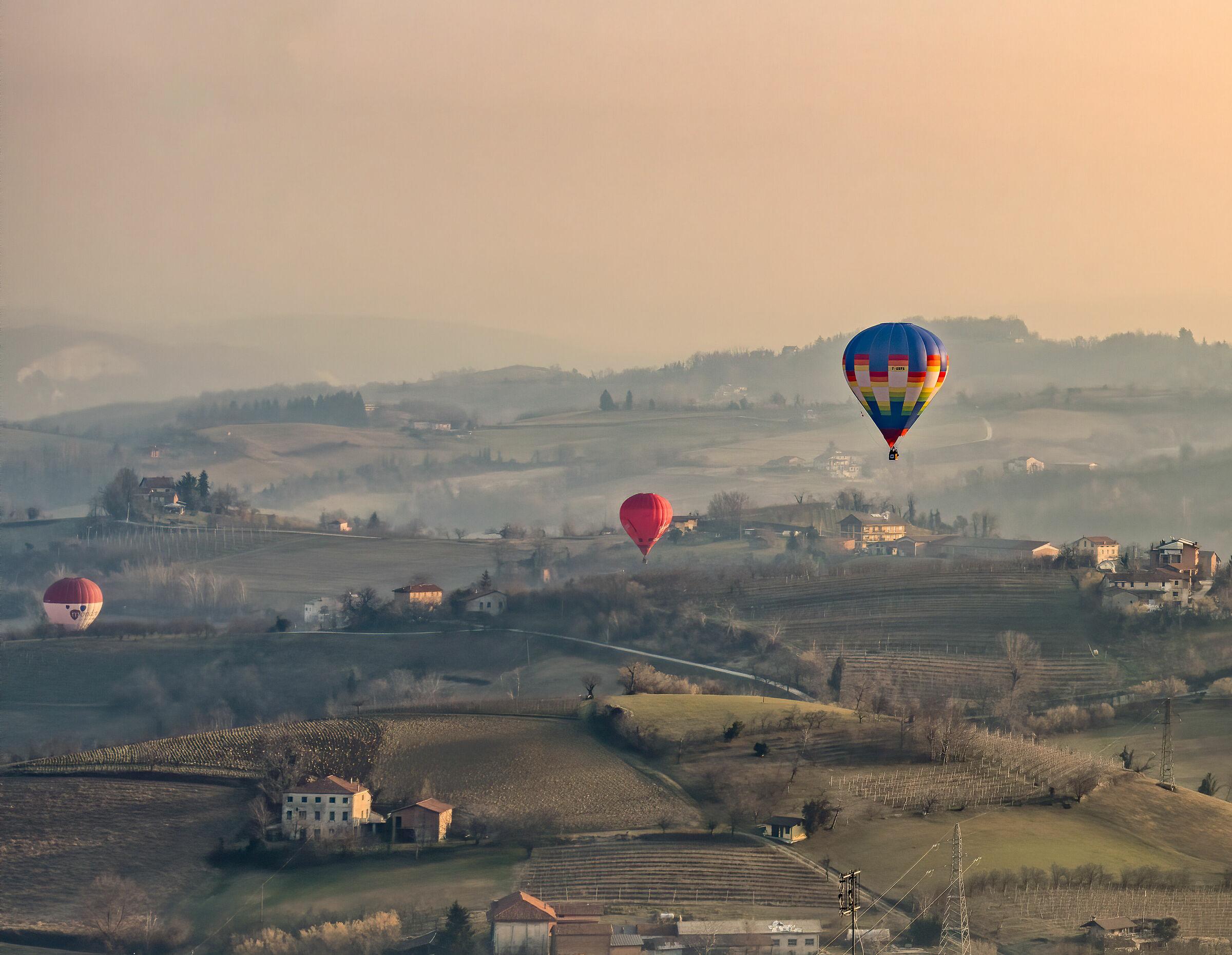 Mondovì (cn) - Festival delle Mongolfiere 2020...