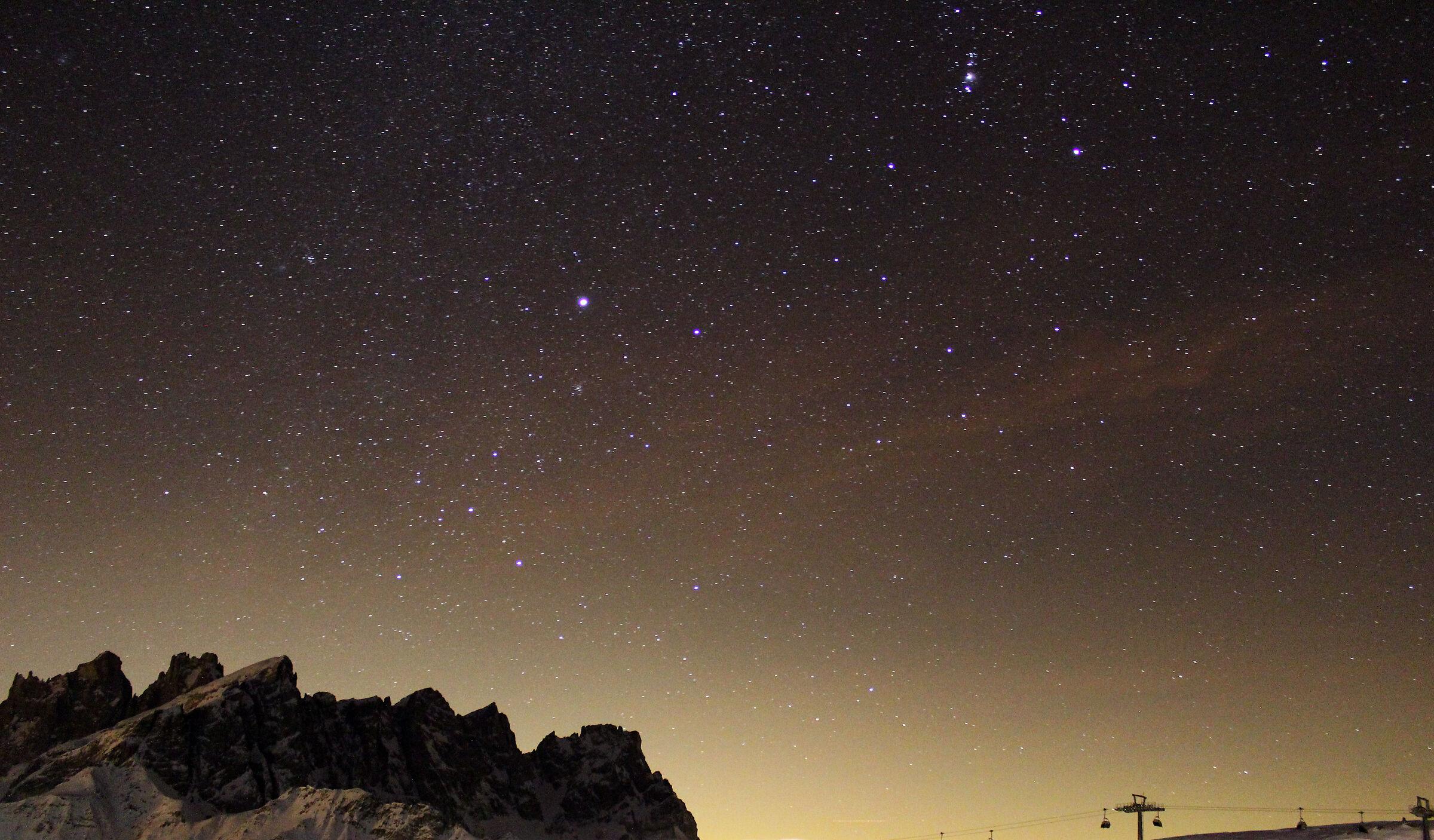 Sono le stelle, le stelle sopra di noi, che governano l...
