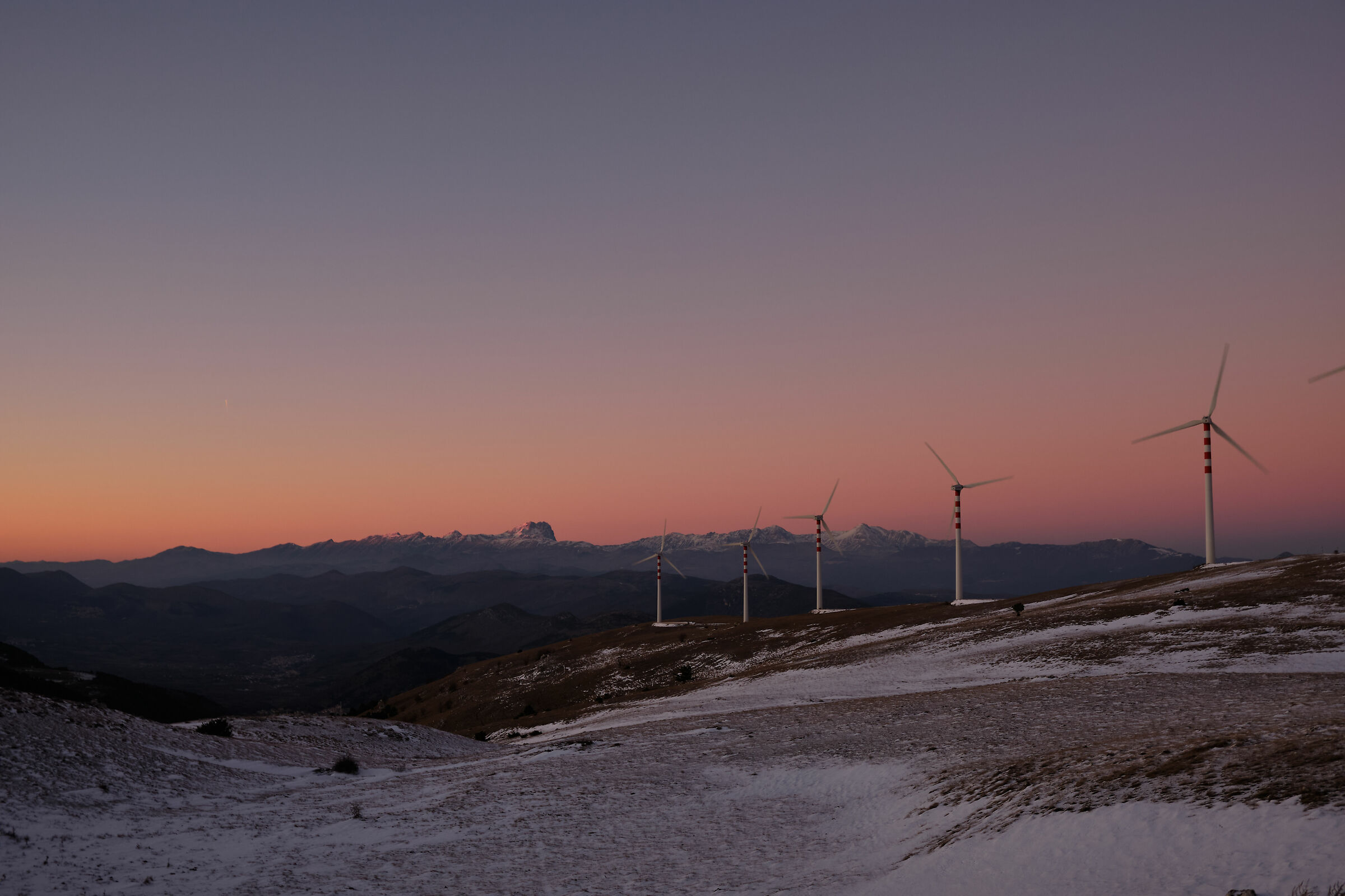 Sunset over the Grand Sasso_2...