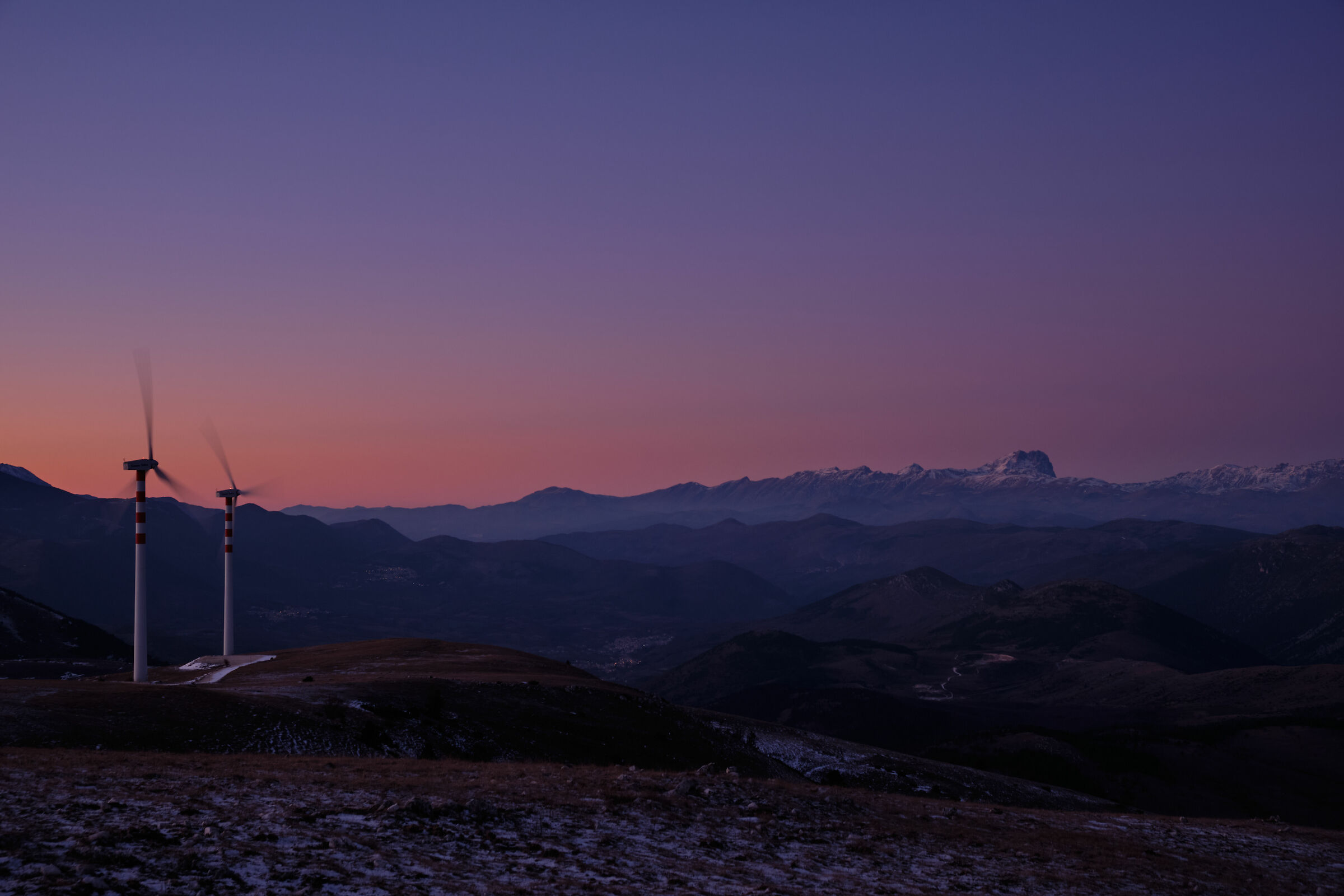 Sunset over the Grand Sasso_3...