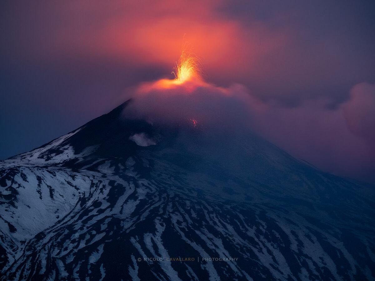 Etna - Twilight Glow...