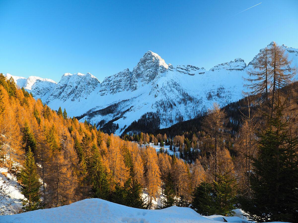 Little Matterhorn in the Dolomites...