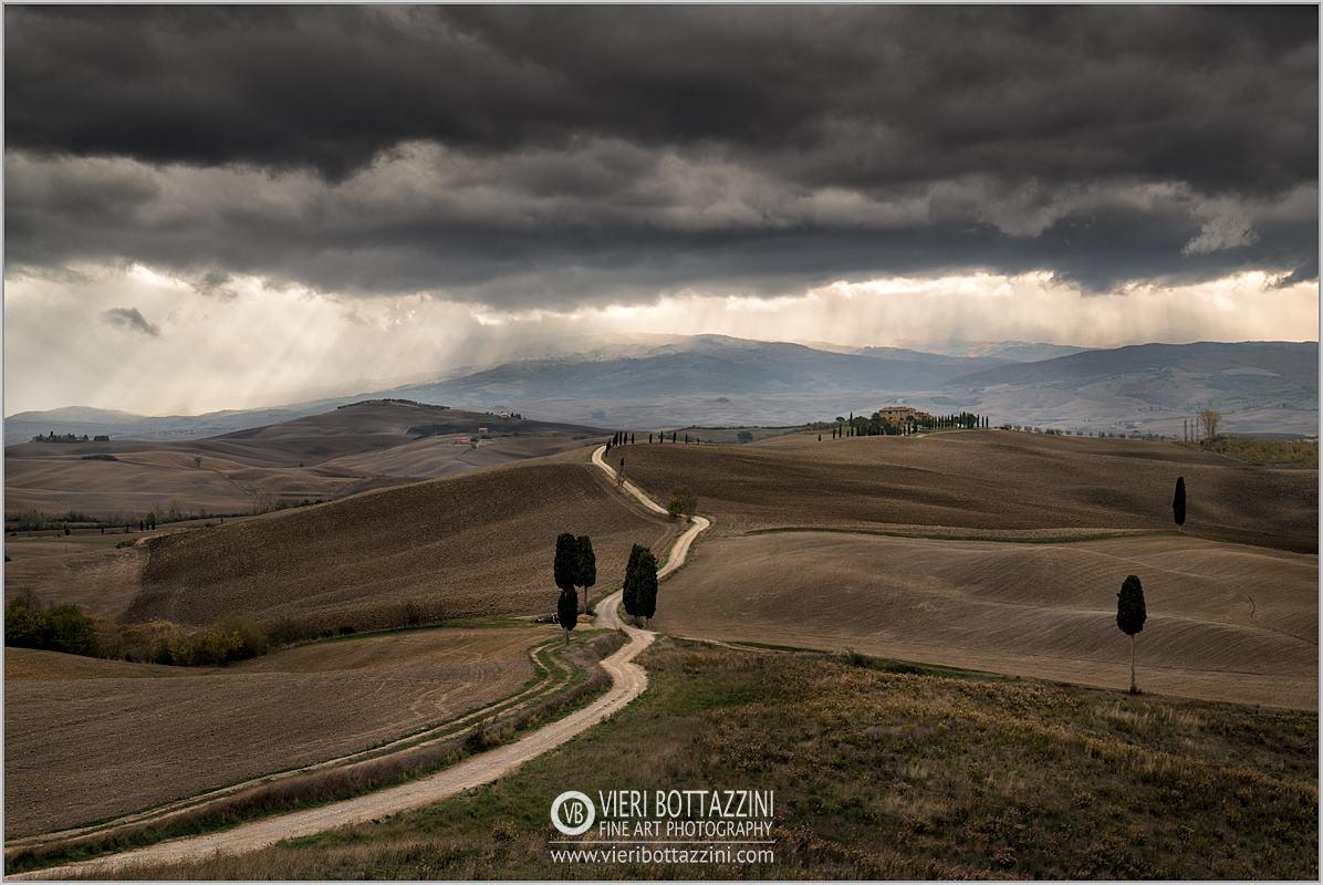 Thunderstorm on Terrapille Farm, Tuscany...