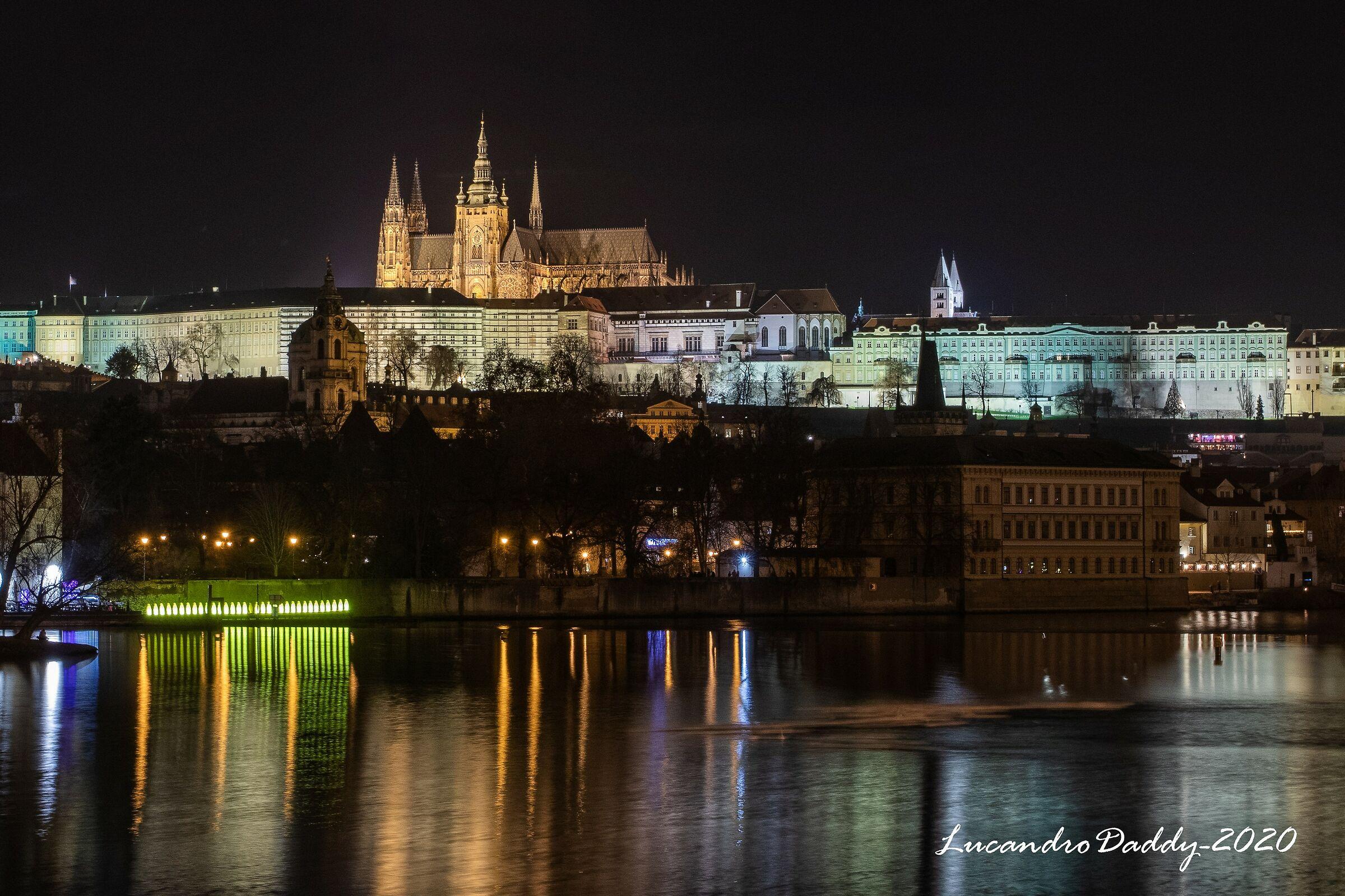 Prague by night...