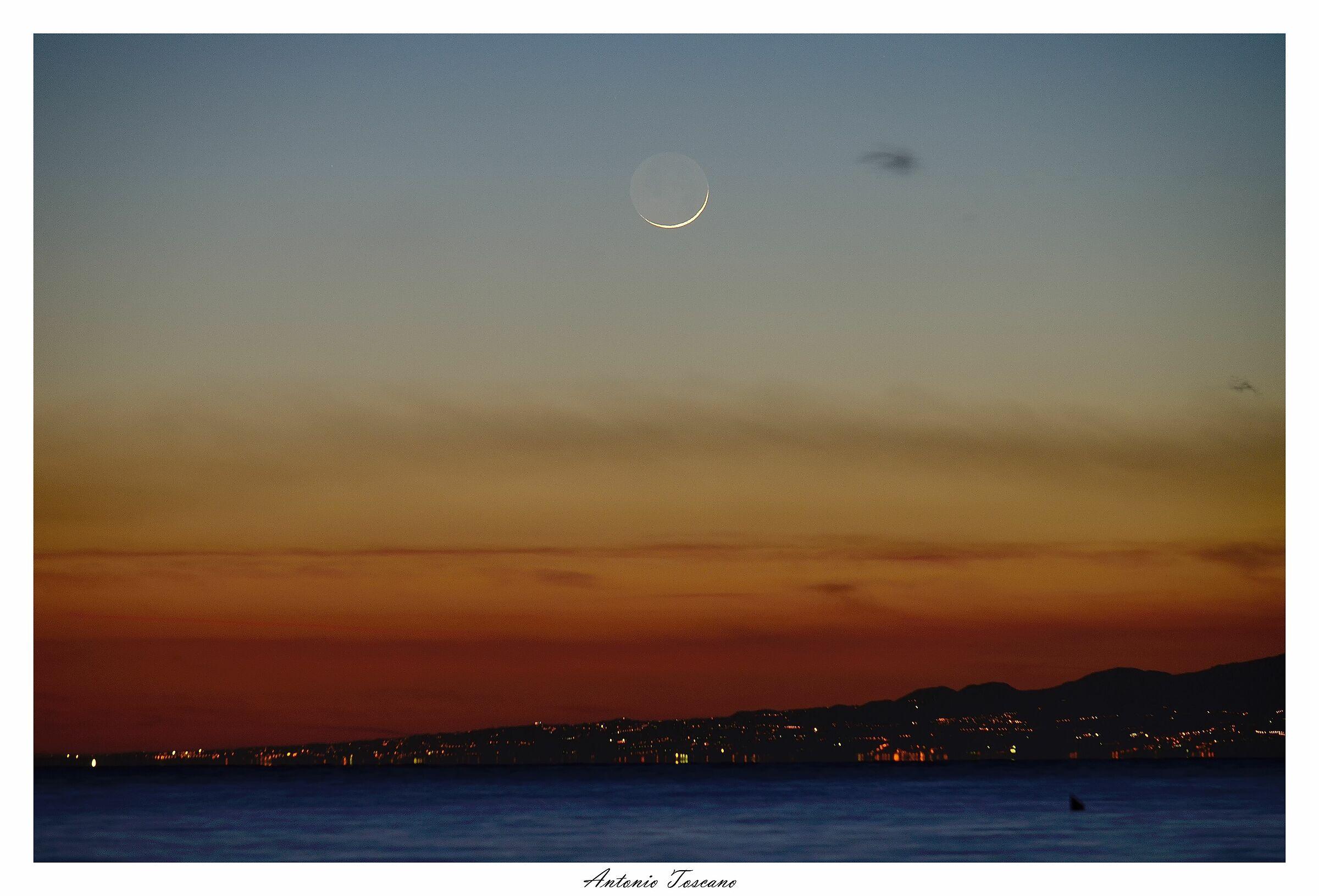 Luna calante...