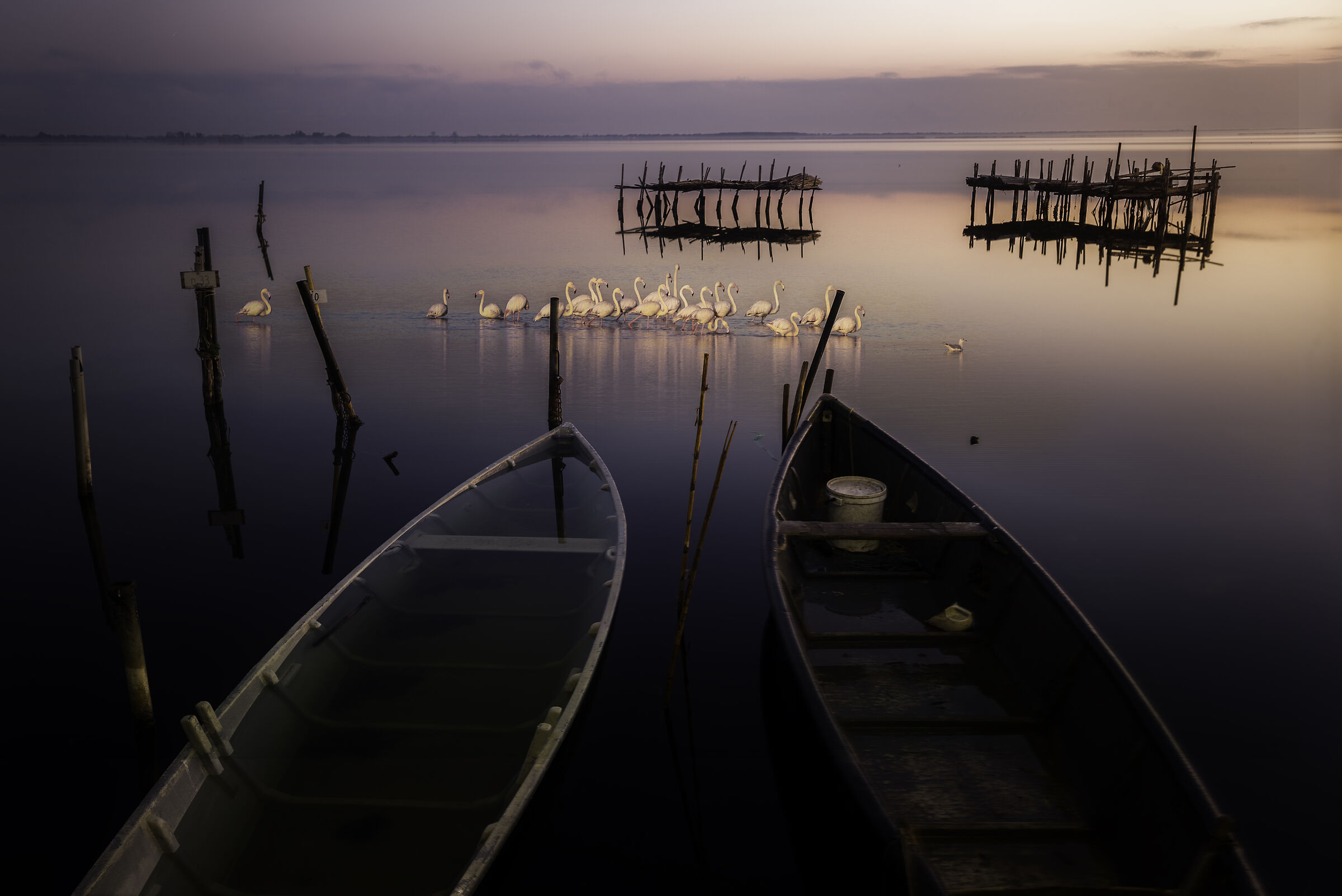 Lake Lesina...