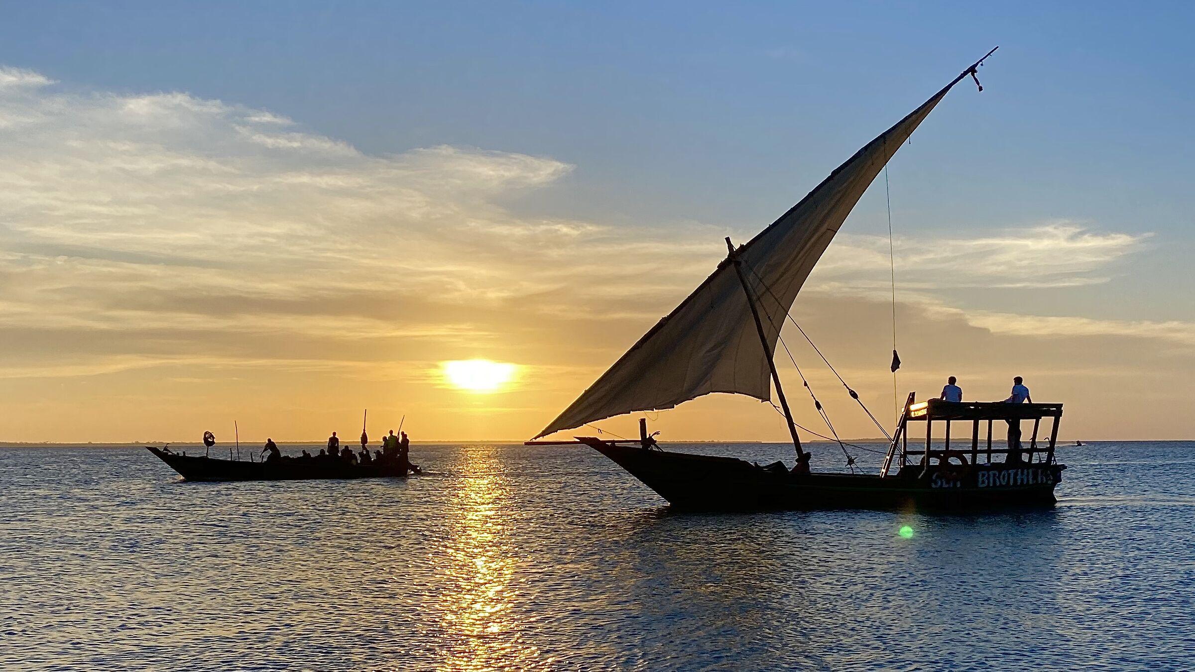 Tramonto a Zanzibar...