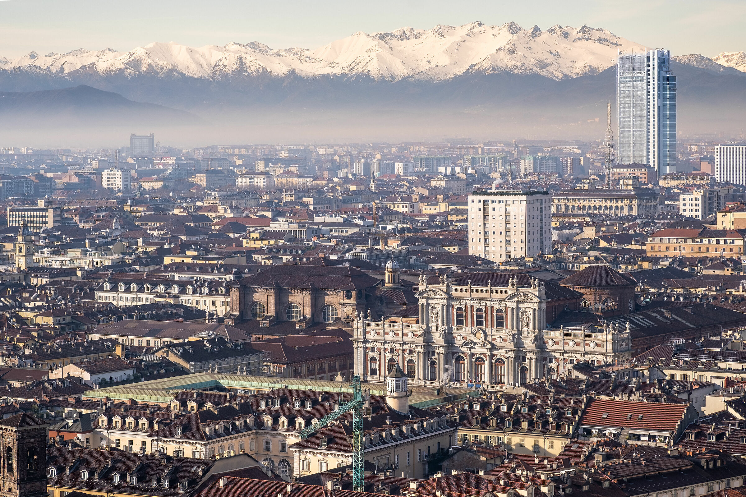 Turin from the Mole...