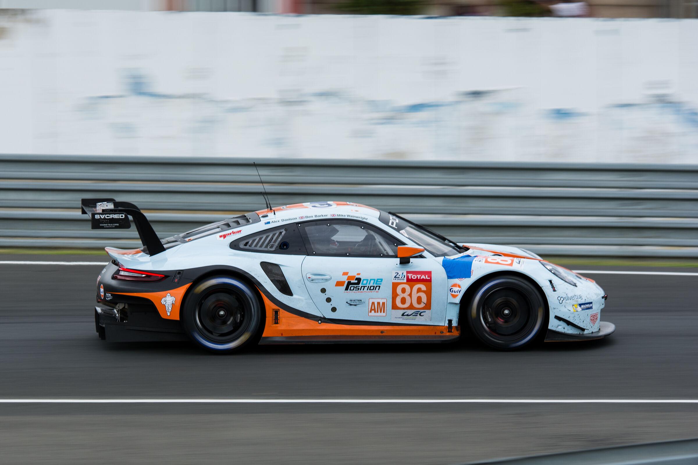 WEC GTEAm Gulf Racing Porsche 911 RSR...