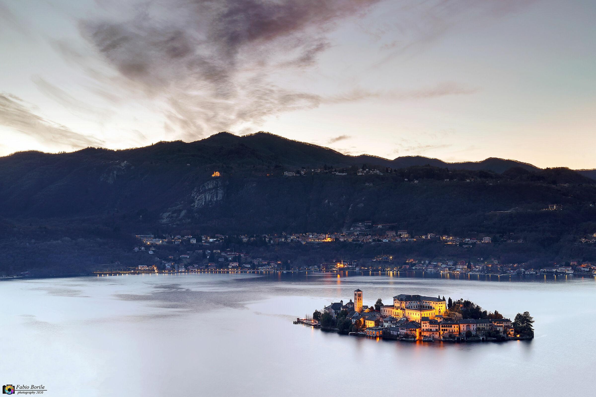 Isola di San Giulio - Lago d' Orta...