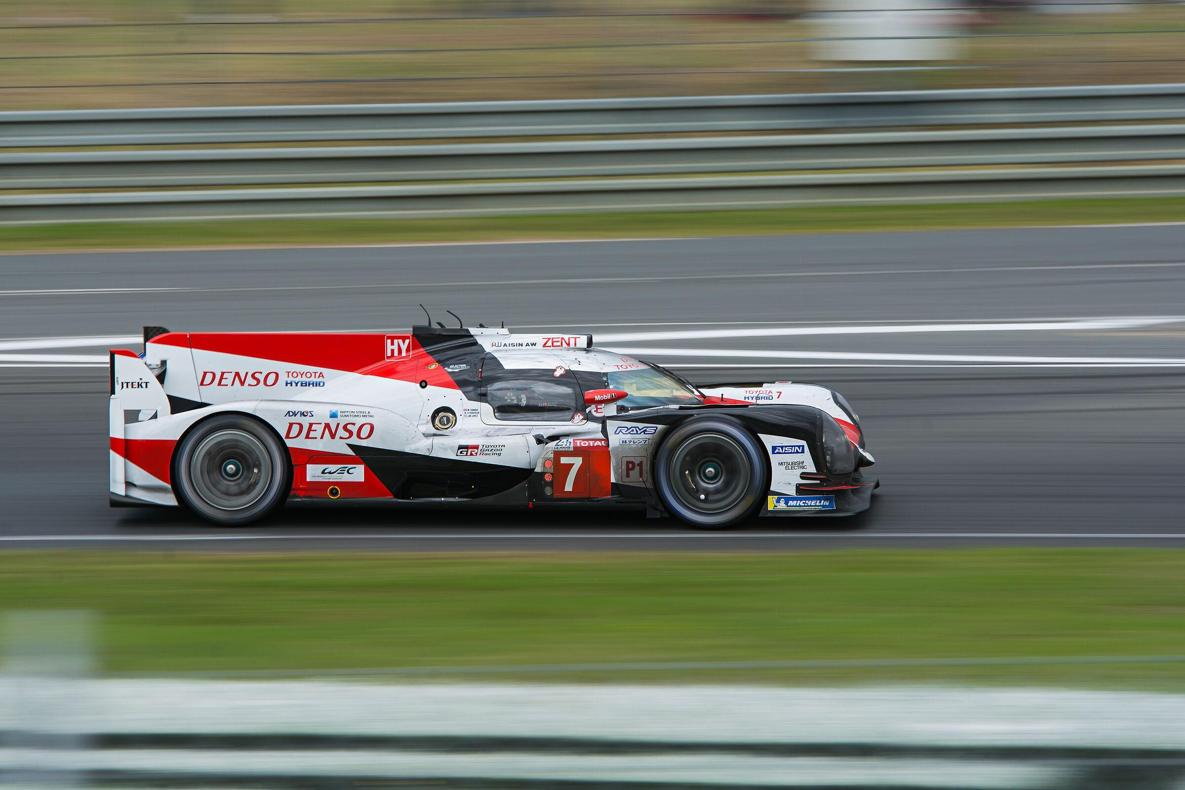 LMP Toyota Gazoo Racing TS050 Hybrid ...