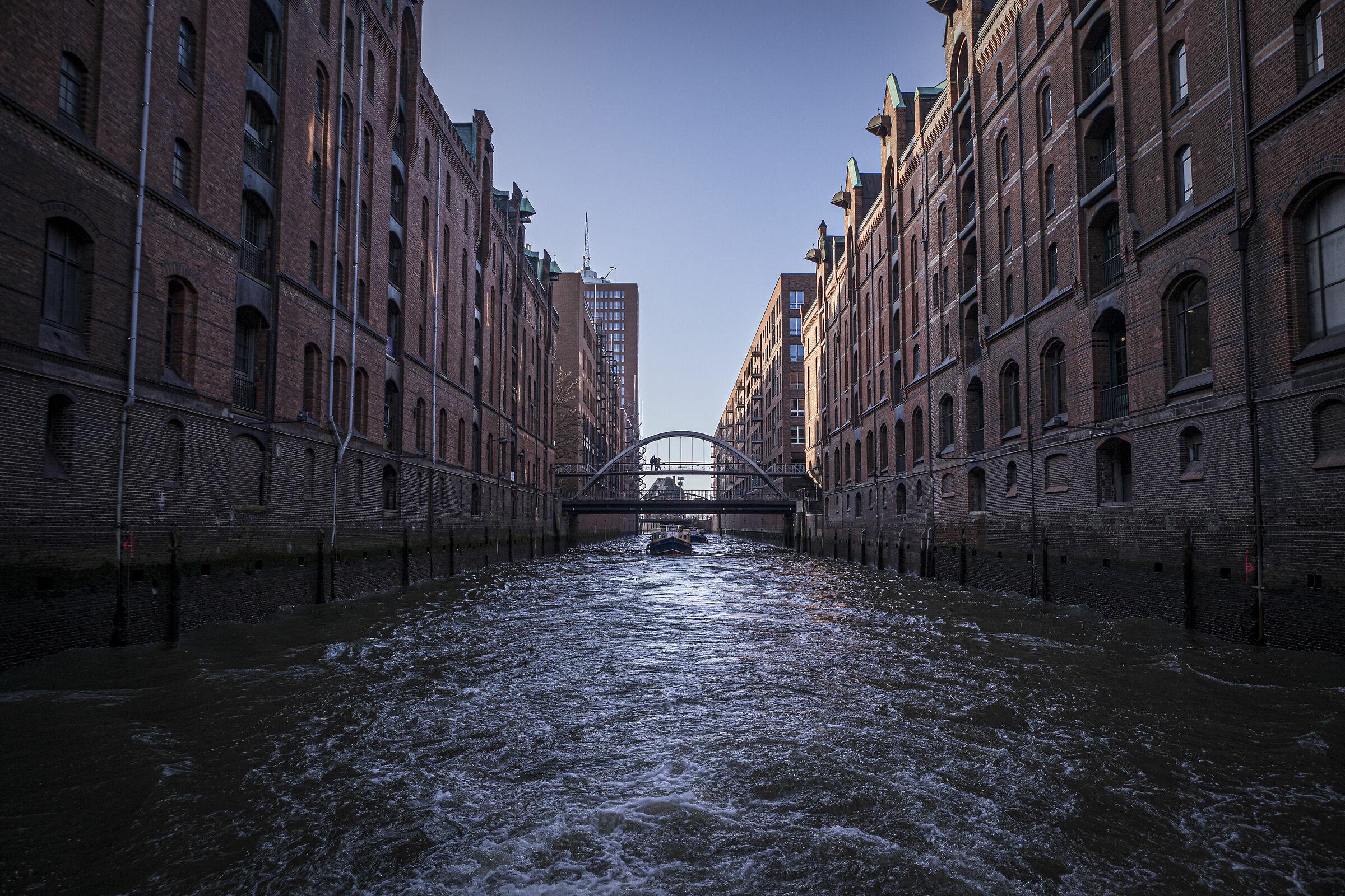 Canali di Amburgo...
