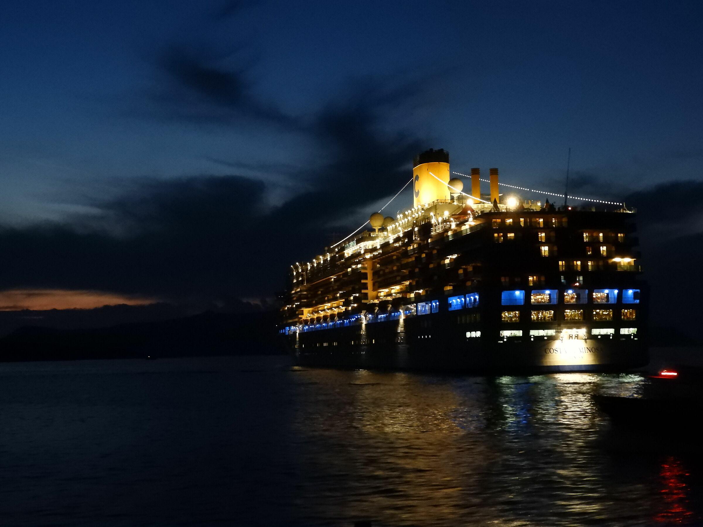 The Blue Hour Santorini...