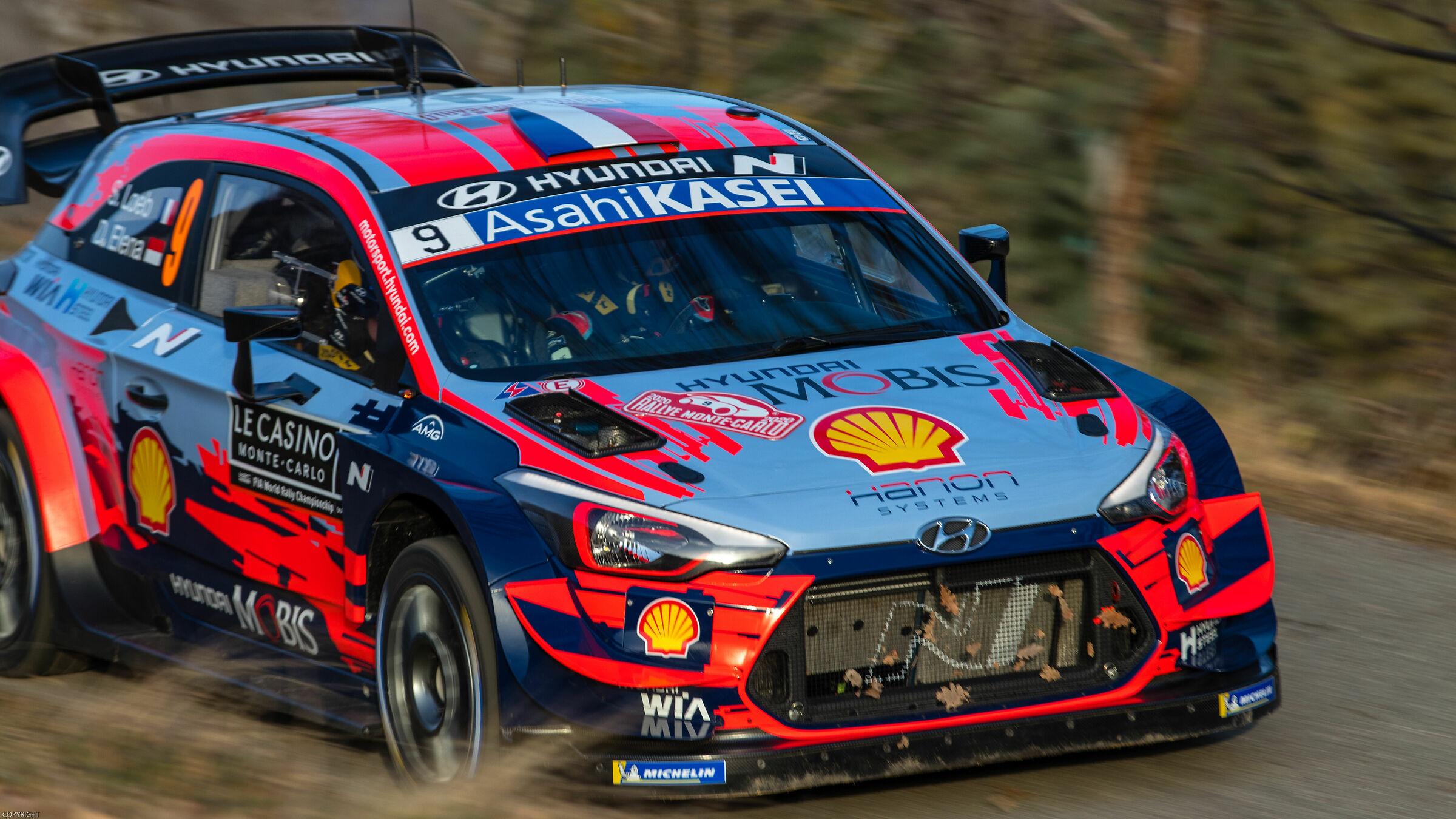 Sébastien Loeb RALLY OF MONTE-CARLO 2020...