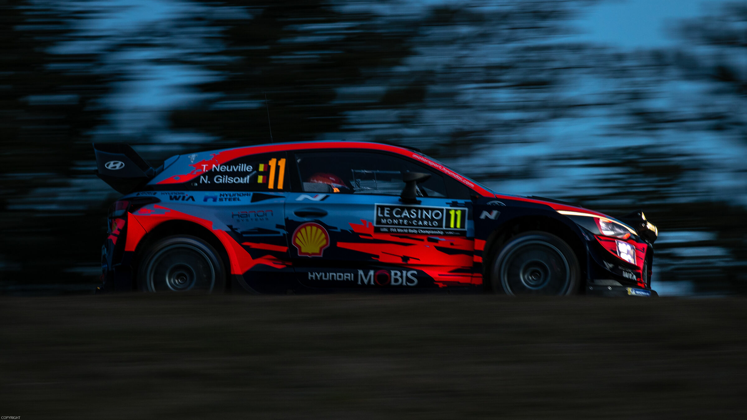 Thierry Neuville - Monte-Carlo Rally 2020...