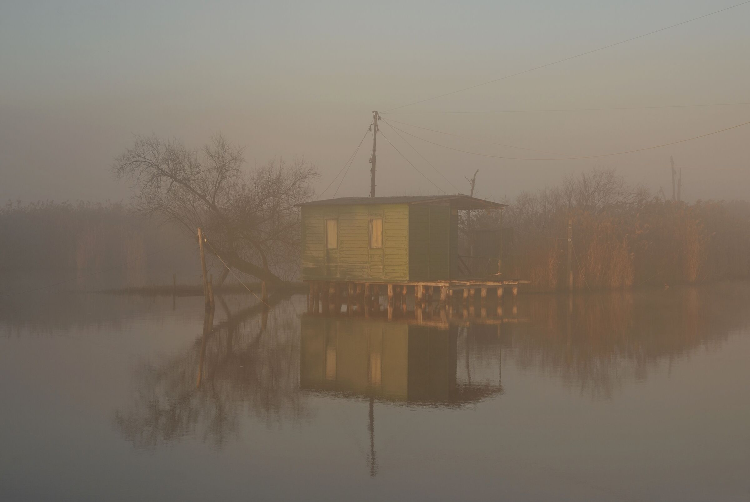 house on the water...