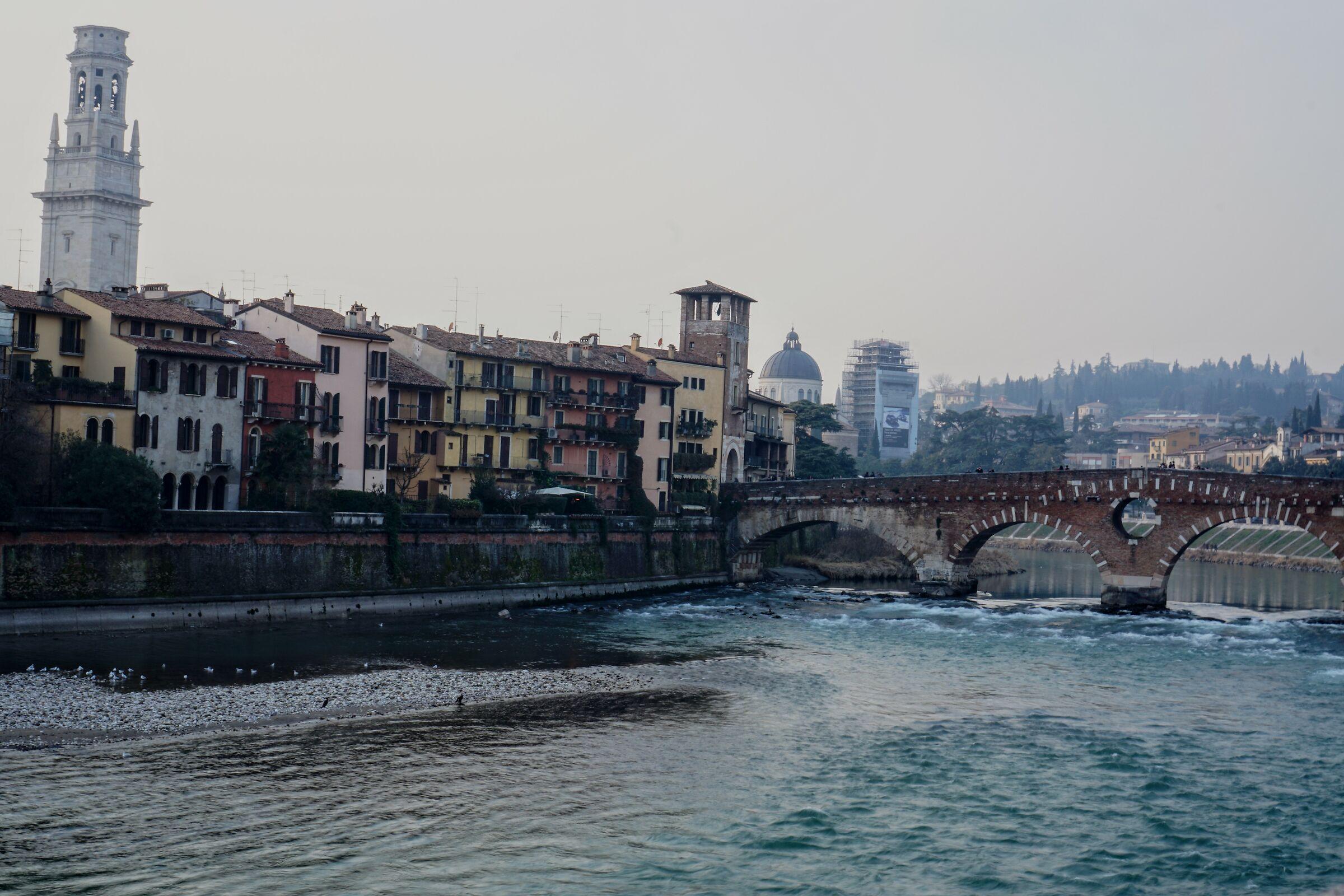 Verona and the Adige...