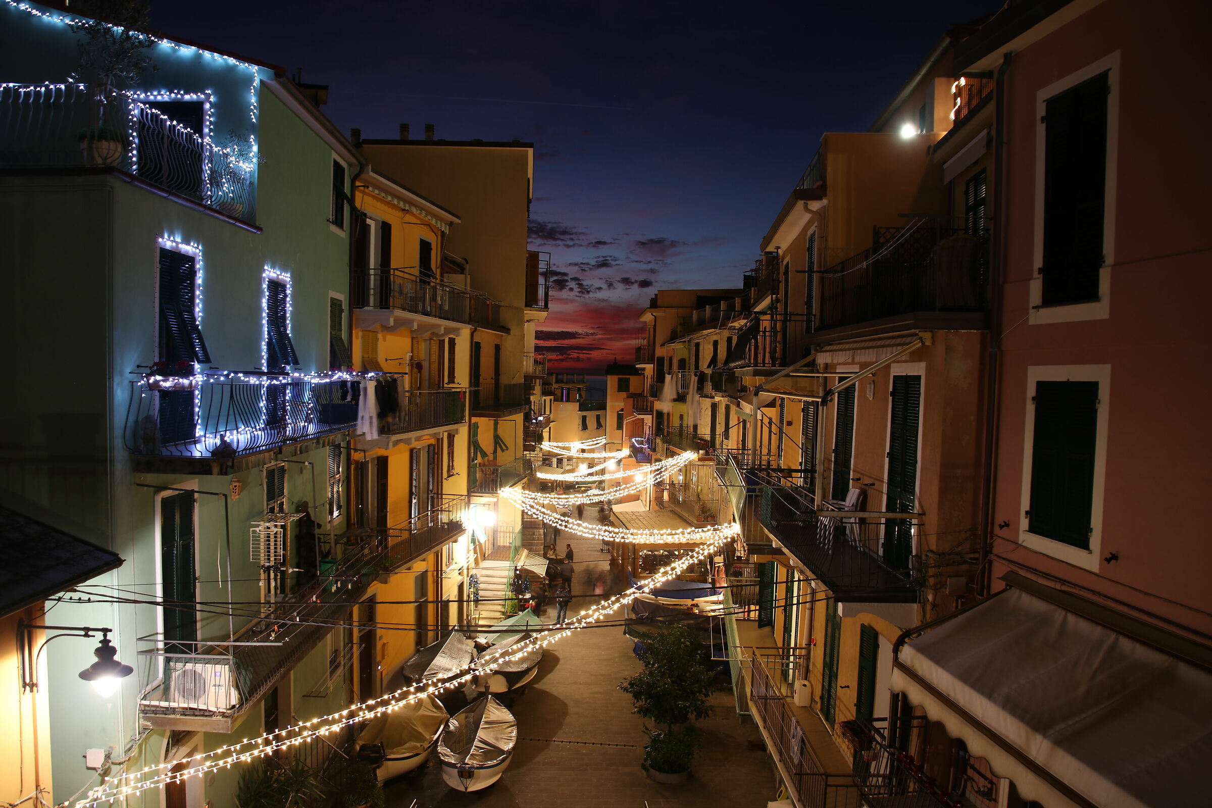 Manarola centro, Cinque Terre (La Spezia) - 31.12.2019...