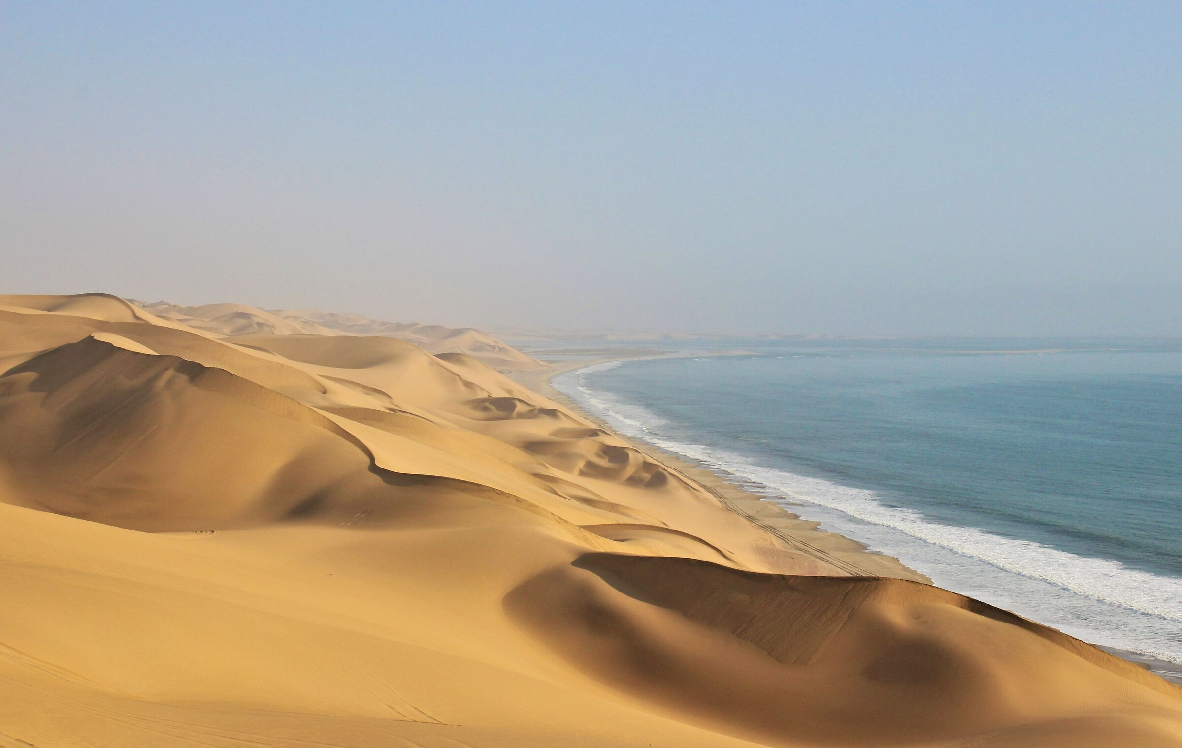 them where the desert embraces the ocean...