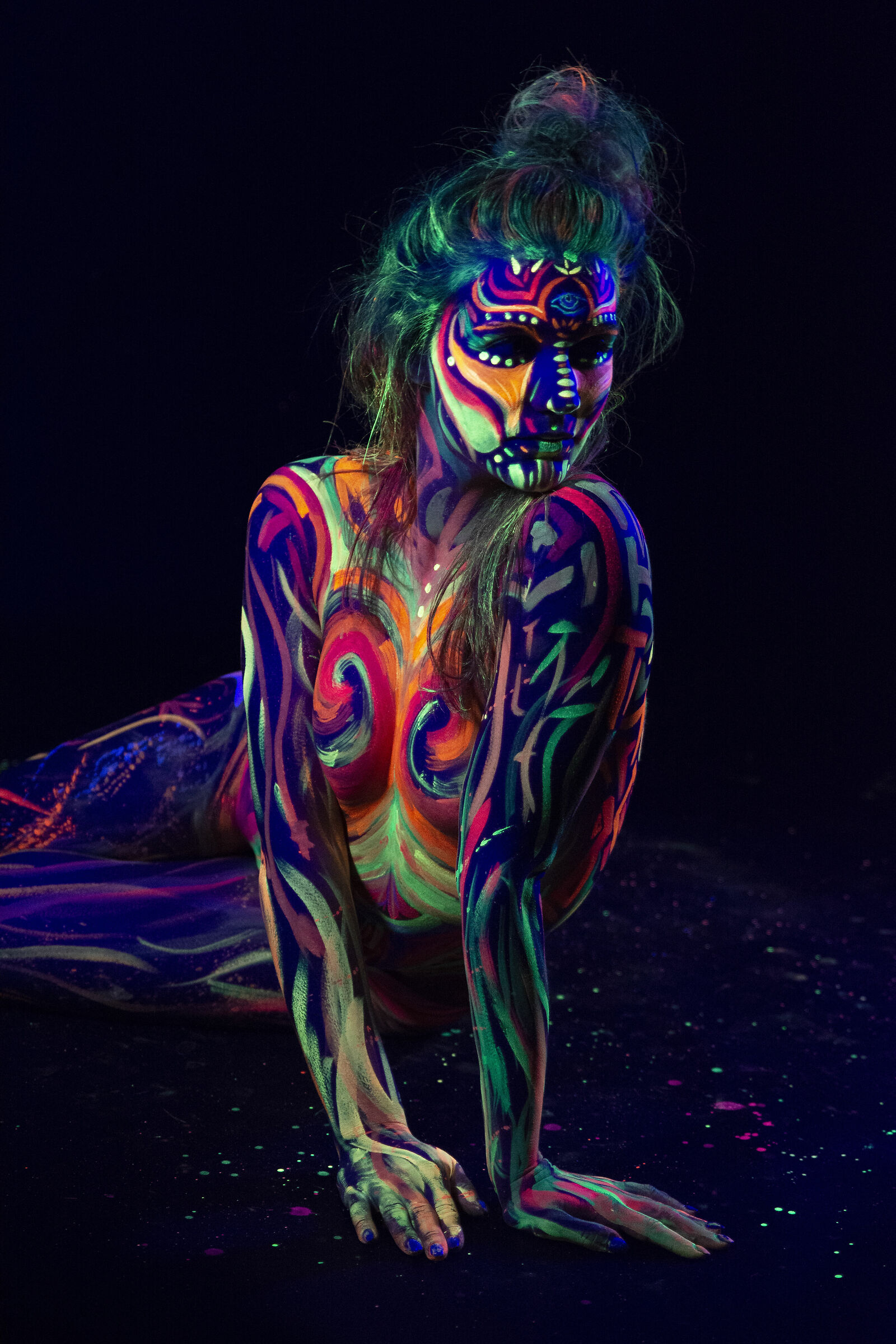 Body painting fluo_2...