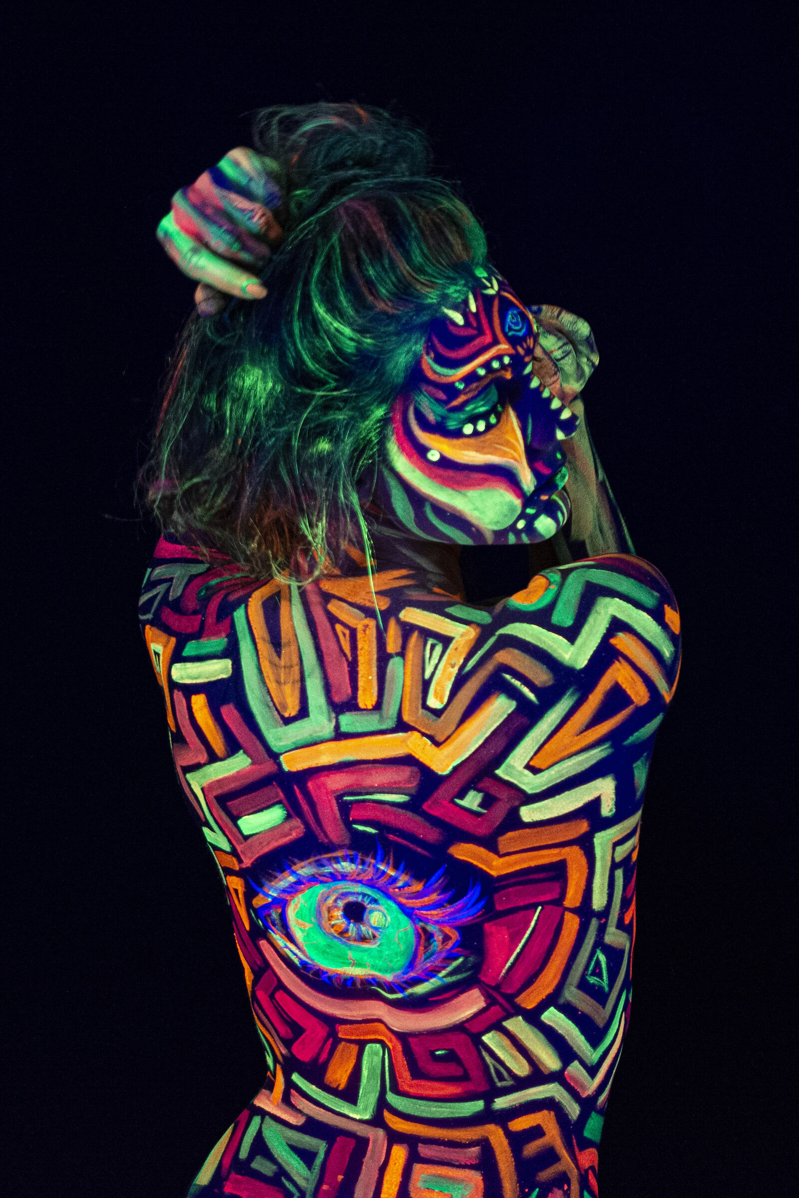 Body painting fluo_7...