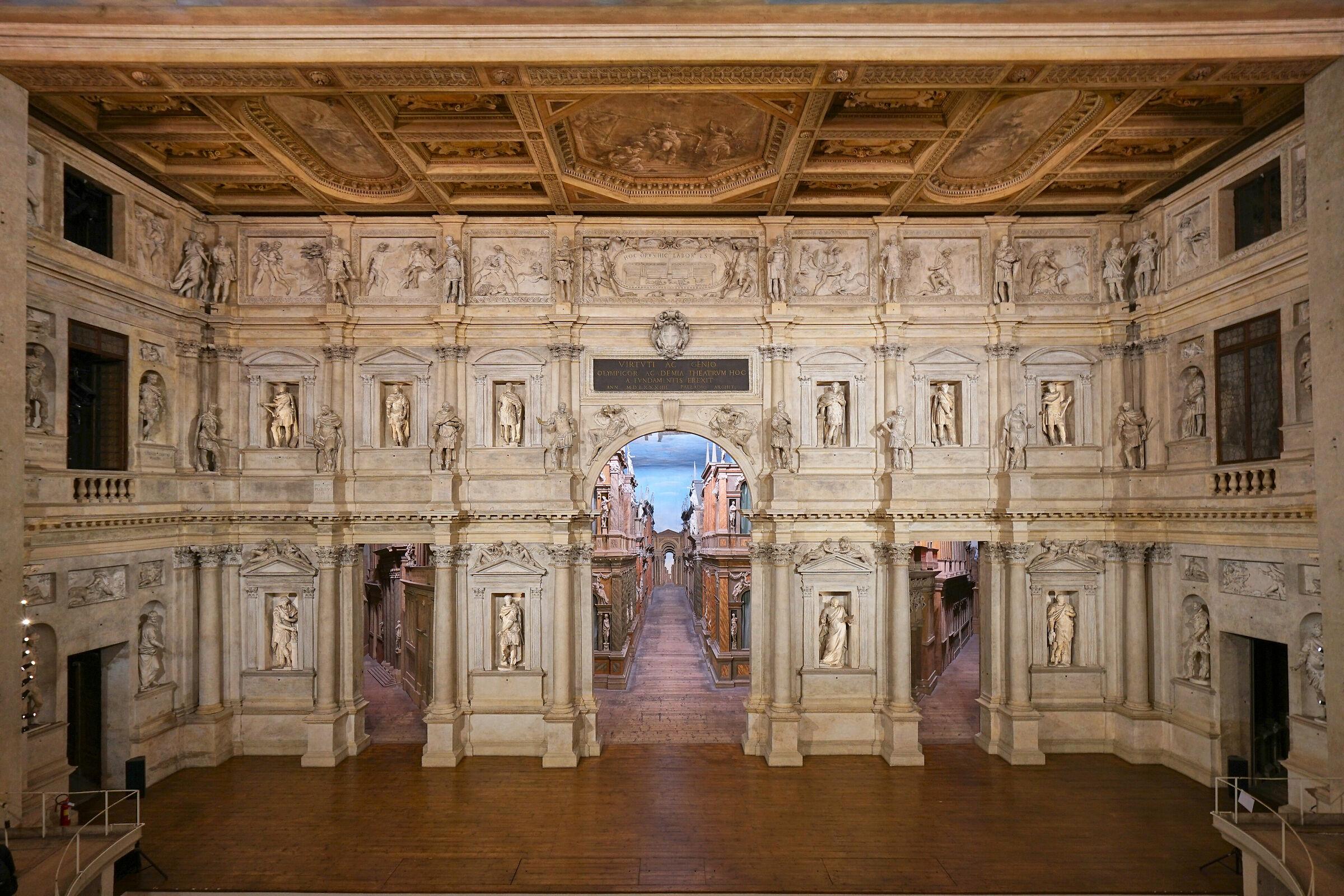 Vicenza Teatro Olimpico...