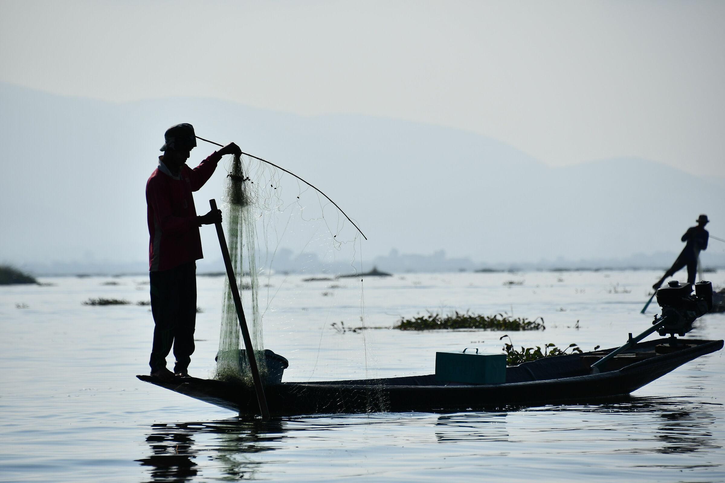 Inle Lake Fisherman...