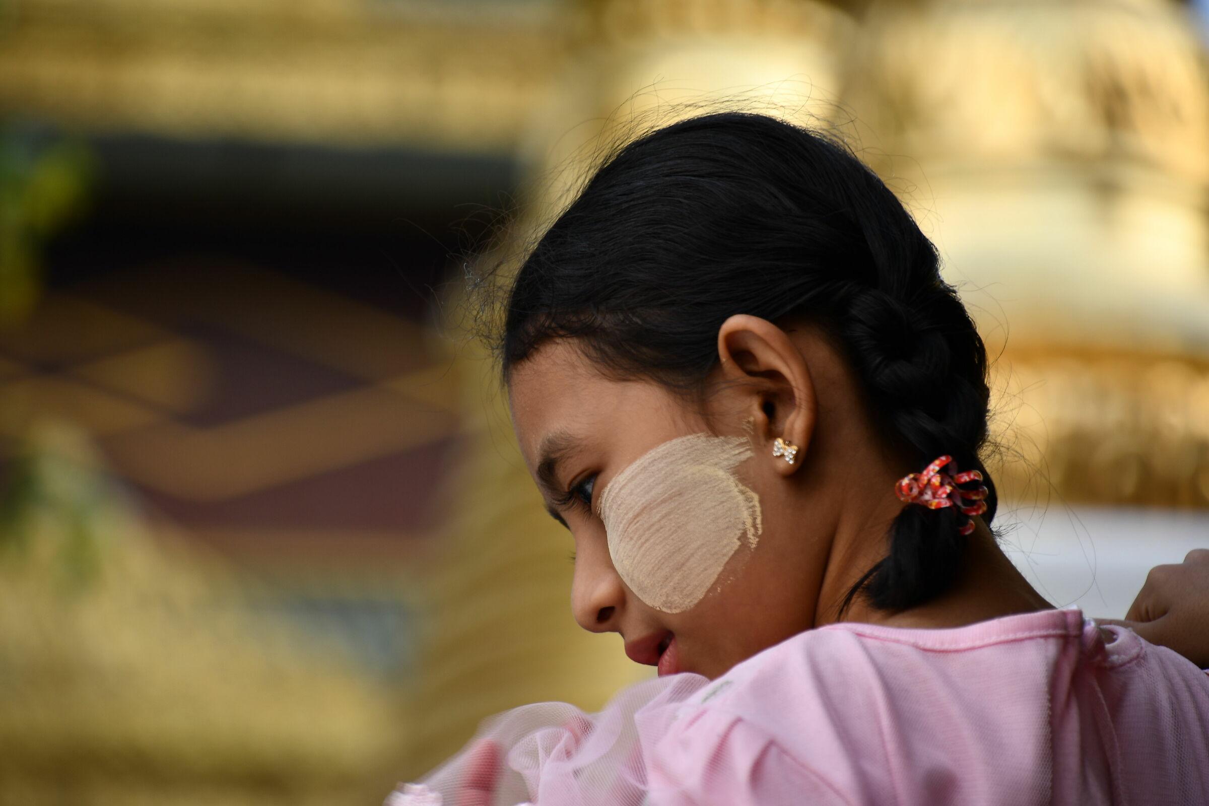 Young Burma Girl...