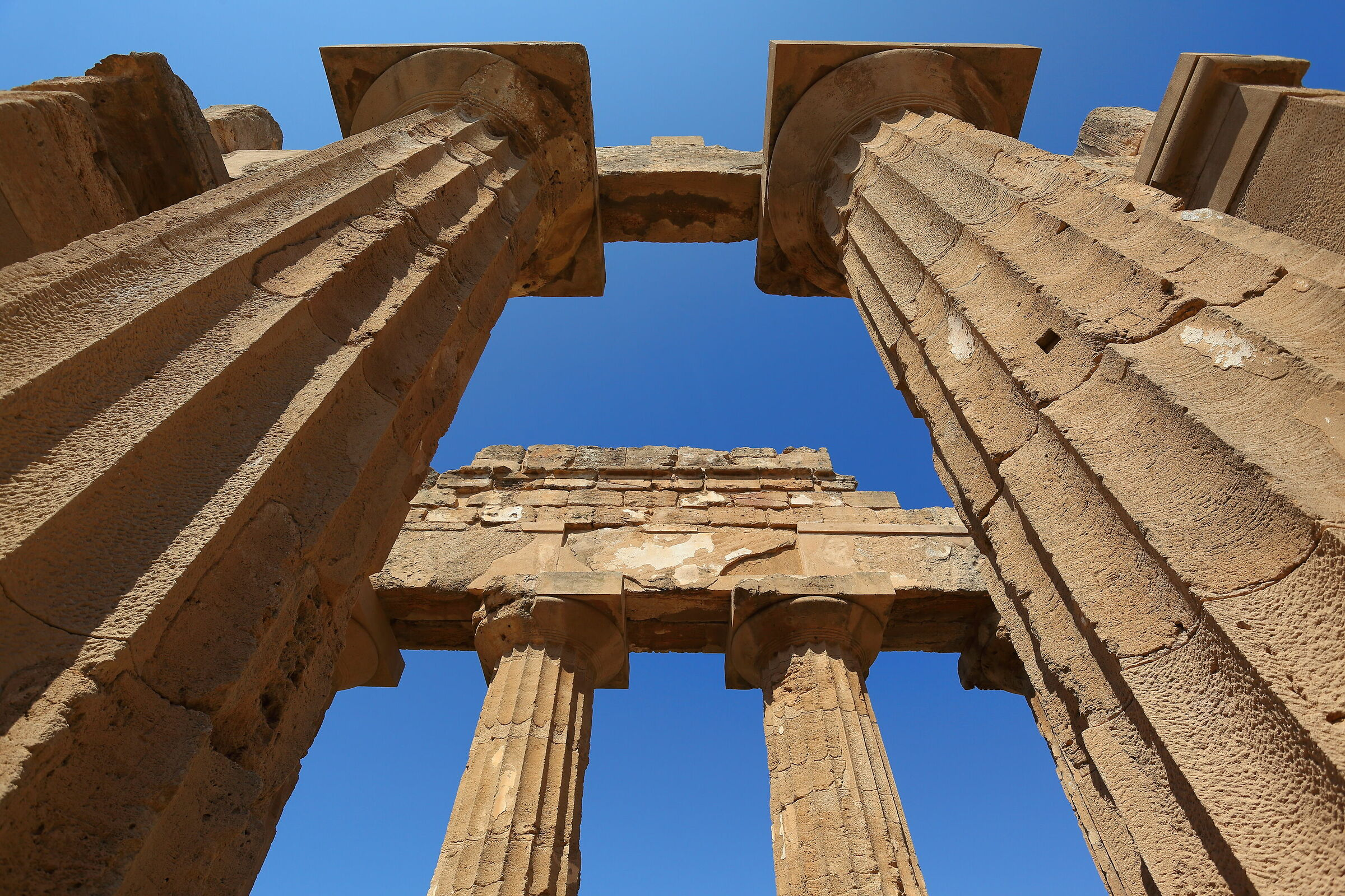 Temple E in Selinunte...