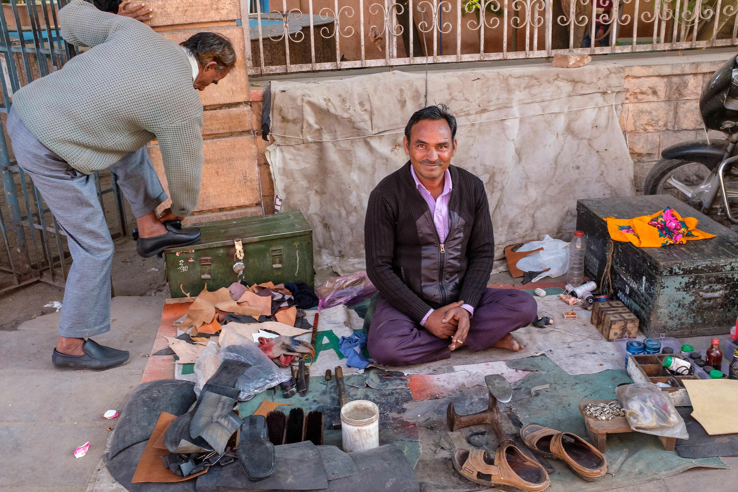 The Shoemaker...