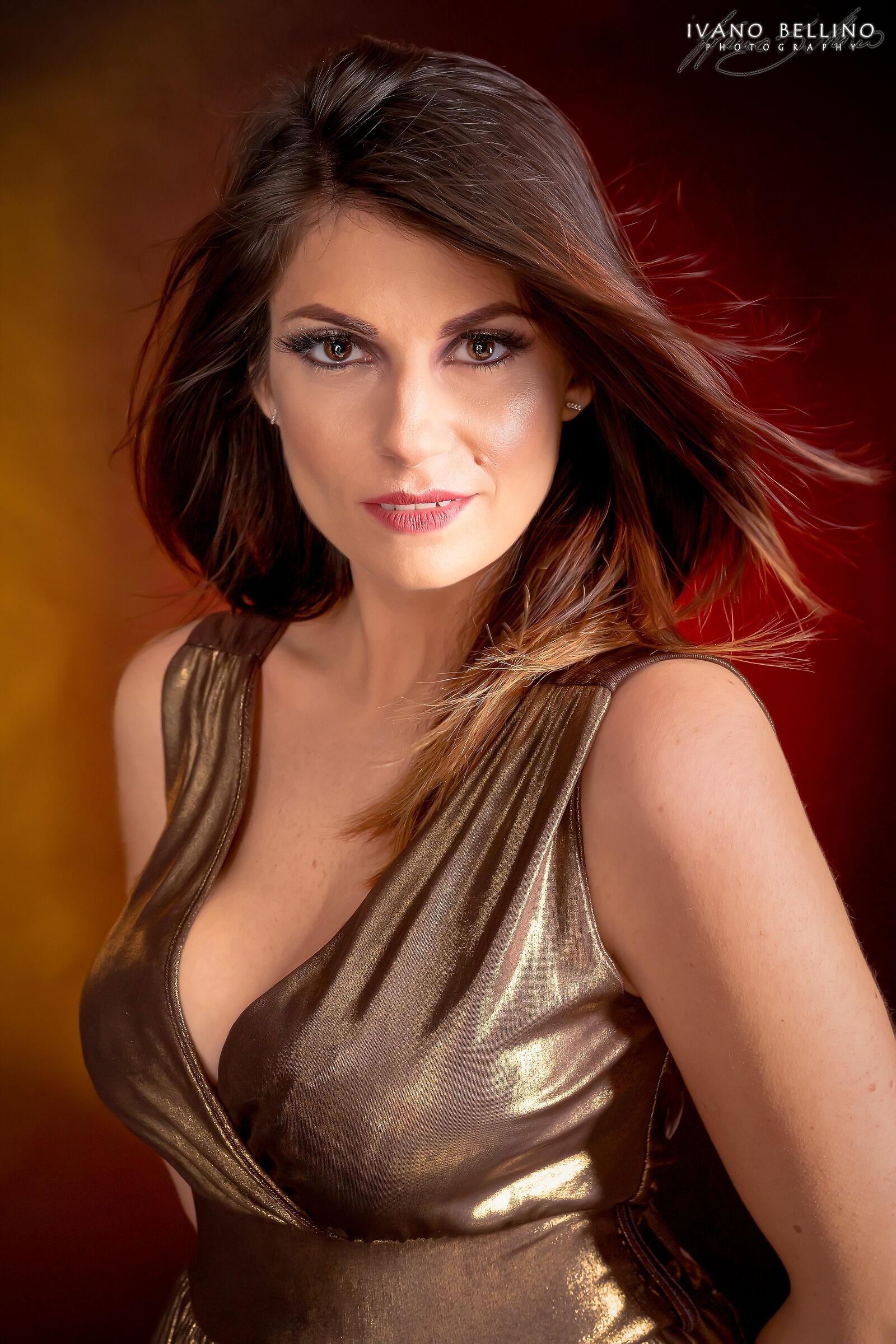 Federica Golden beauty...
