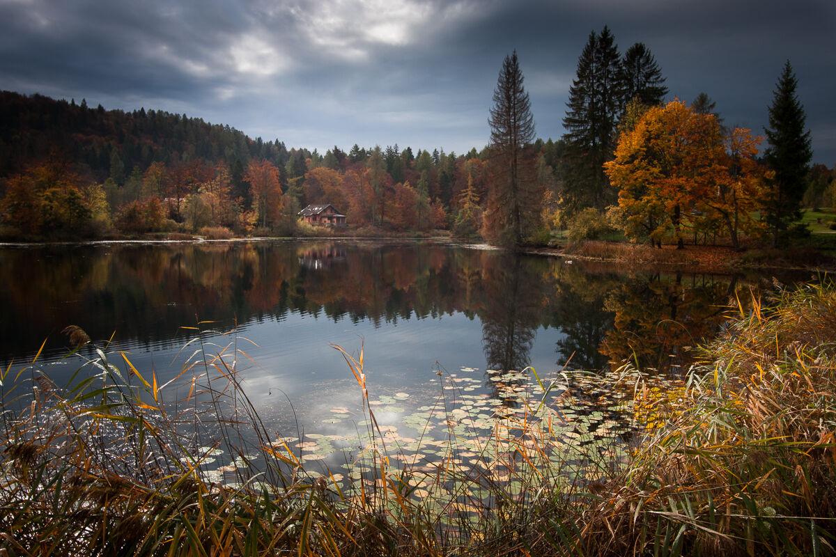 Autumn on the lake ... ...