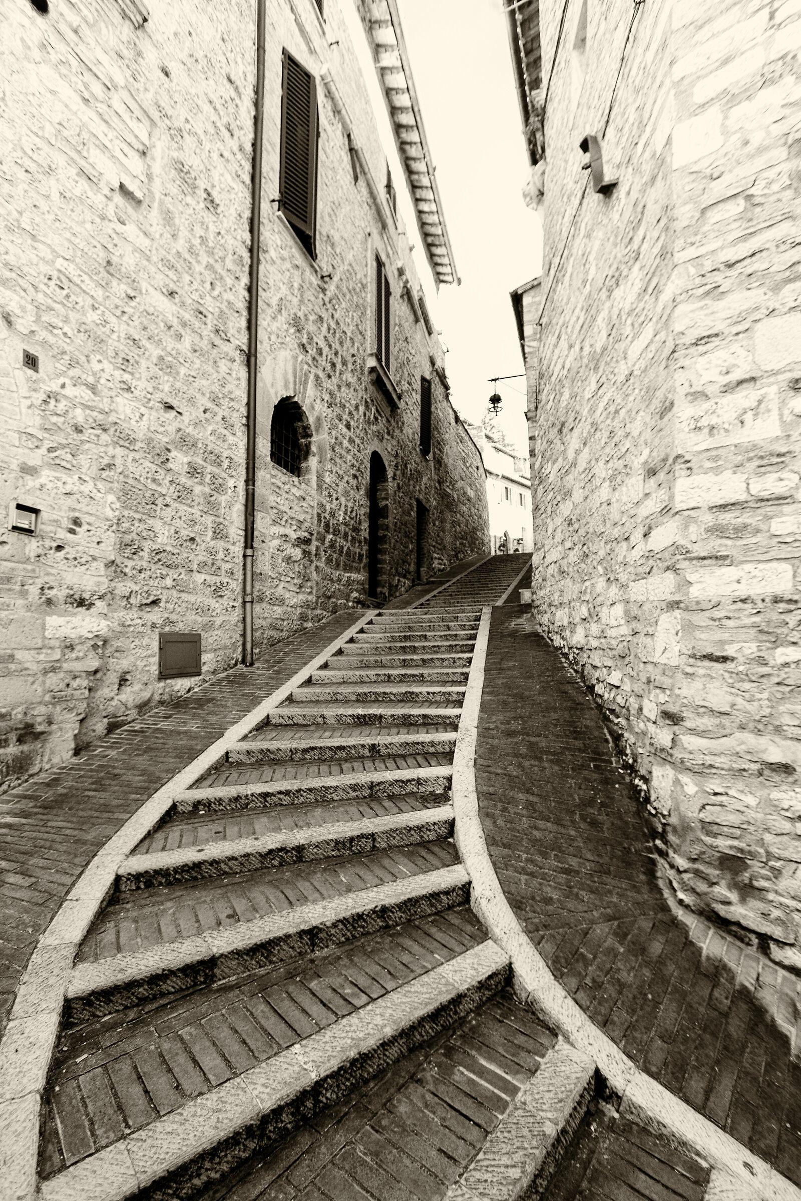 il vicolo(Assisi)...