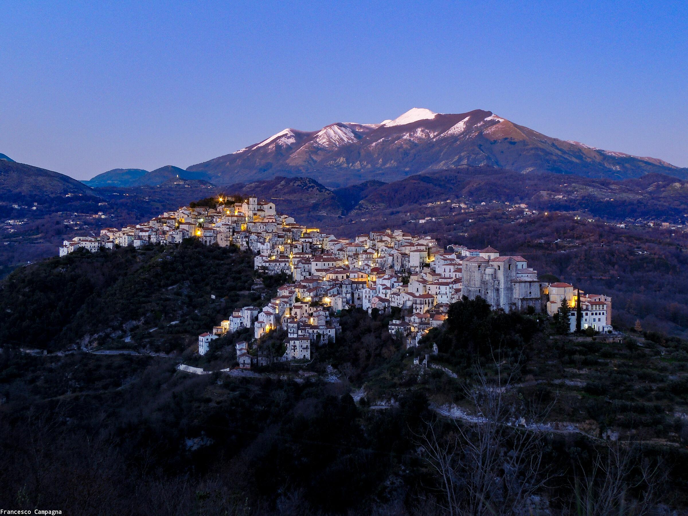 Panorama di Rivello...