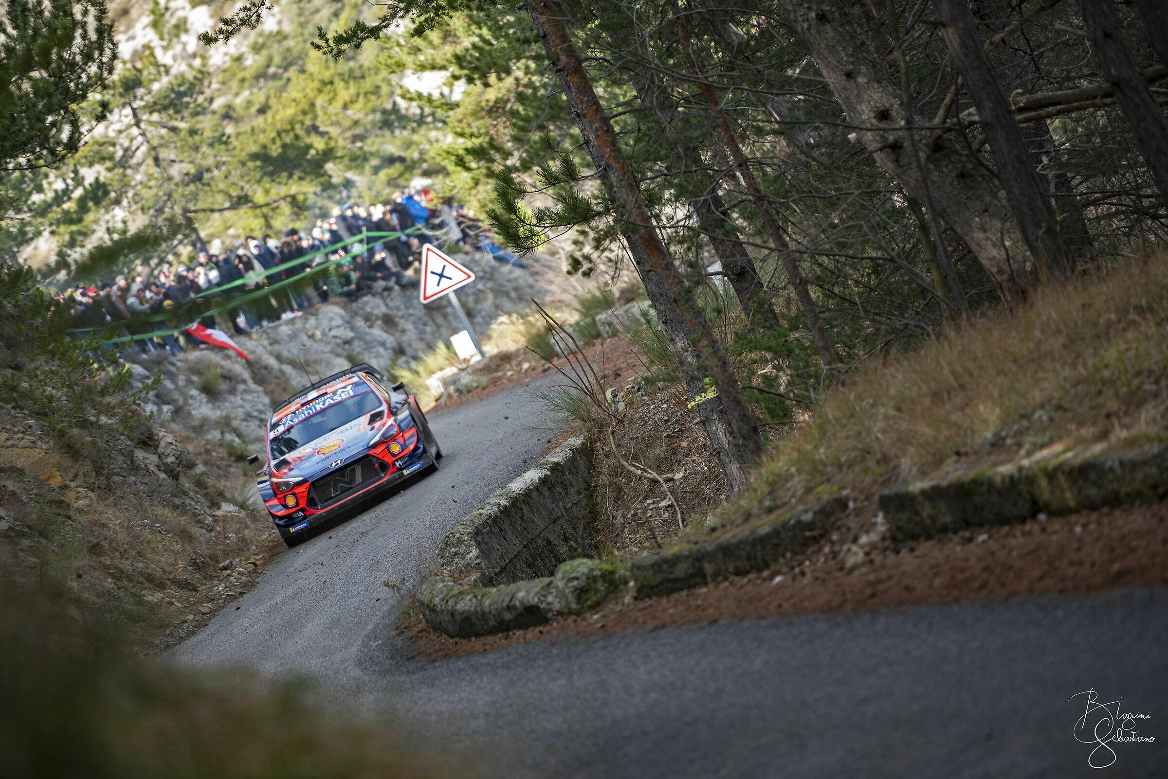 Sebastien Loeb - Hyundai I20 WRC - Monte Carlo Rally...