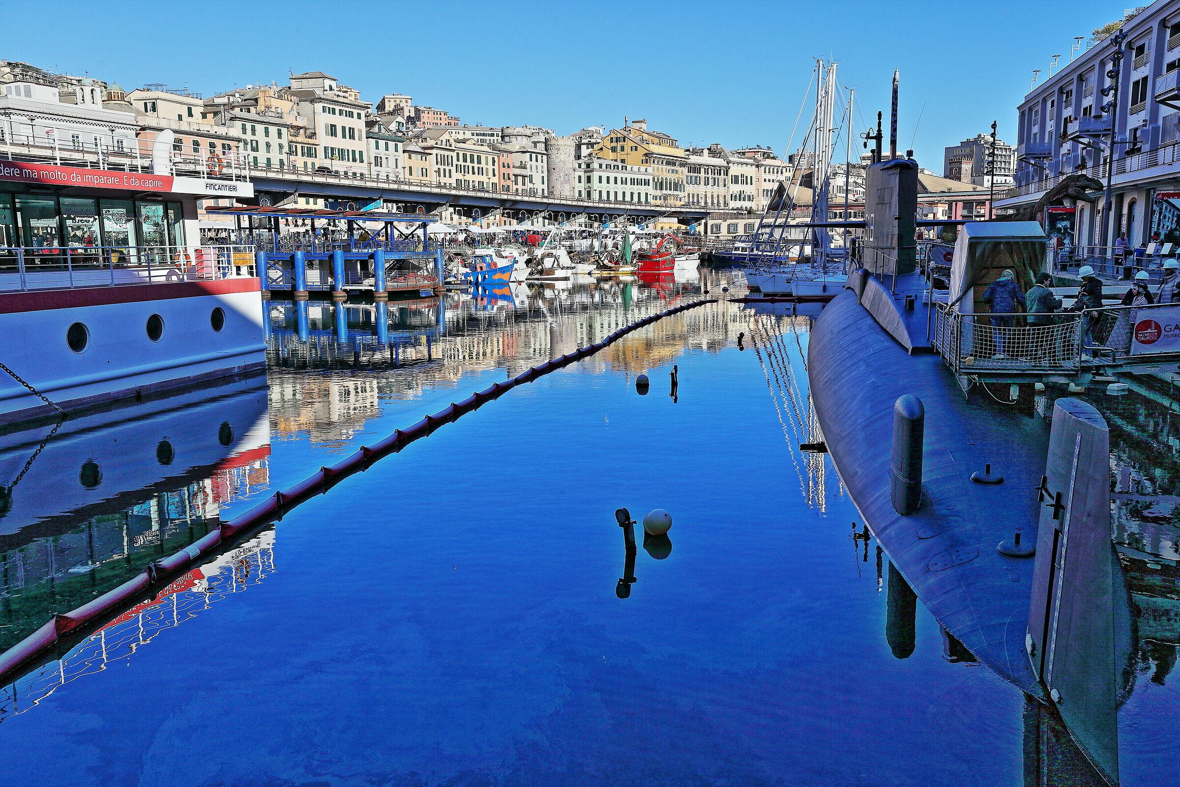 Port of Genoa...