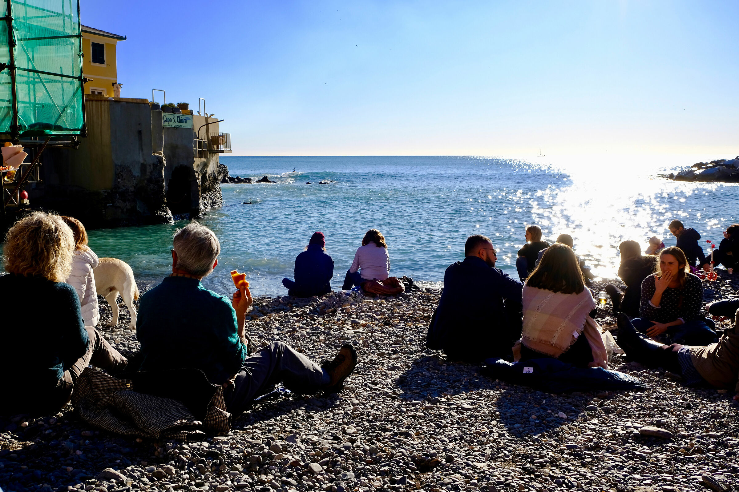 Sunday at the end of November in Boccadasse (Ge)...
