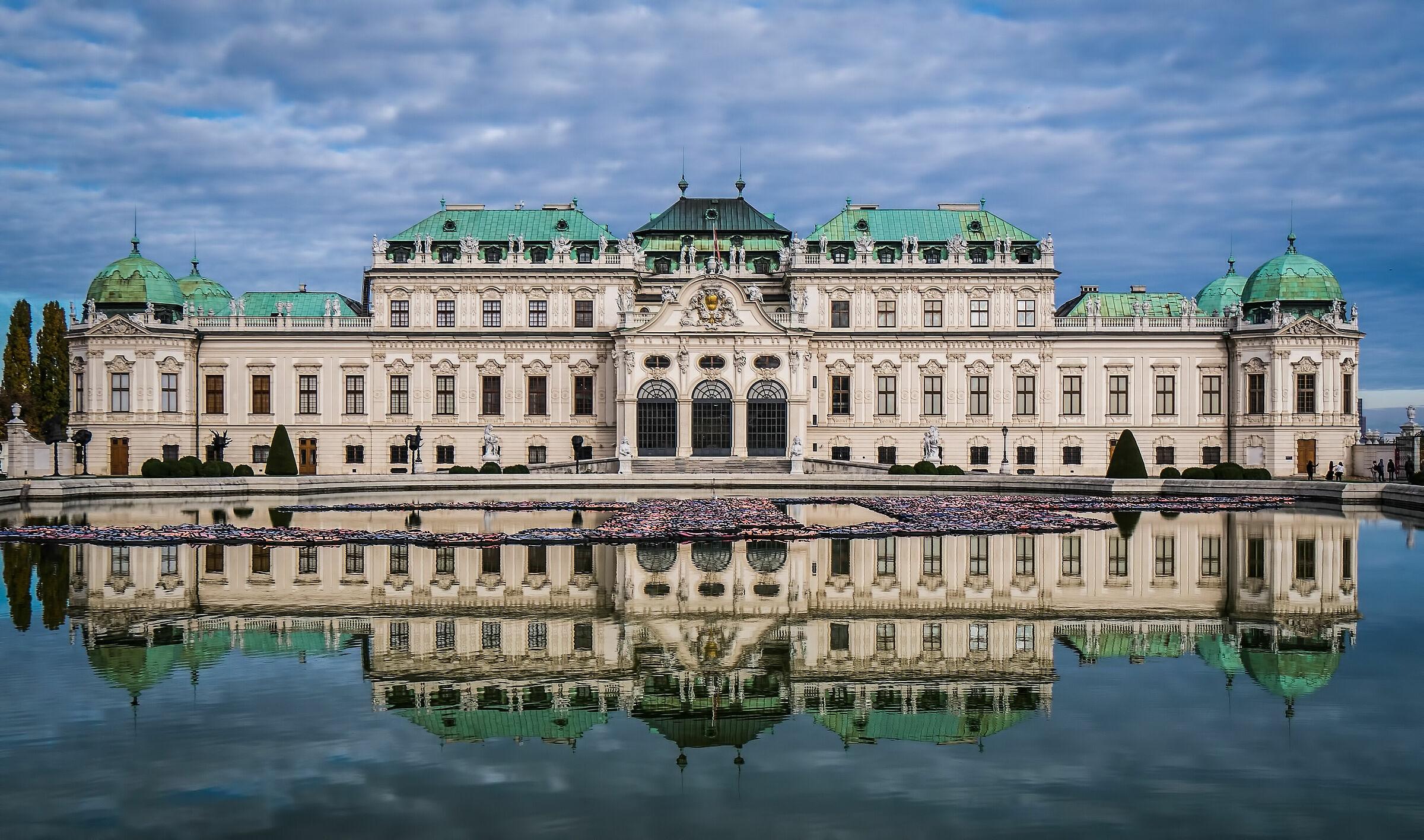 Vienna 2019... Castello del Belvedere...